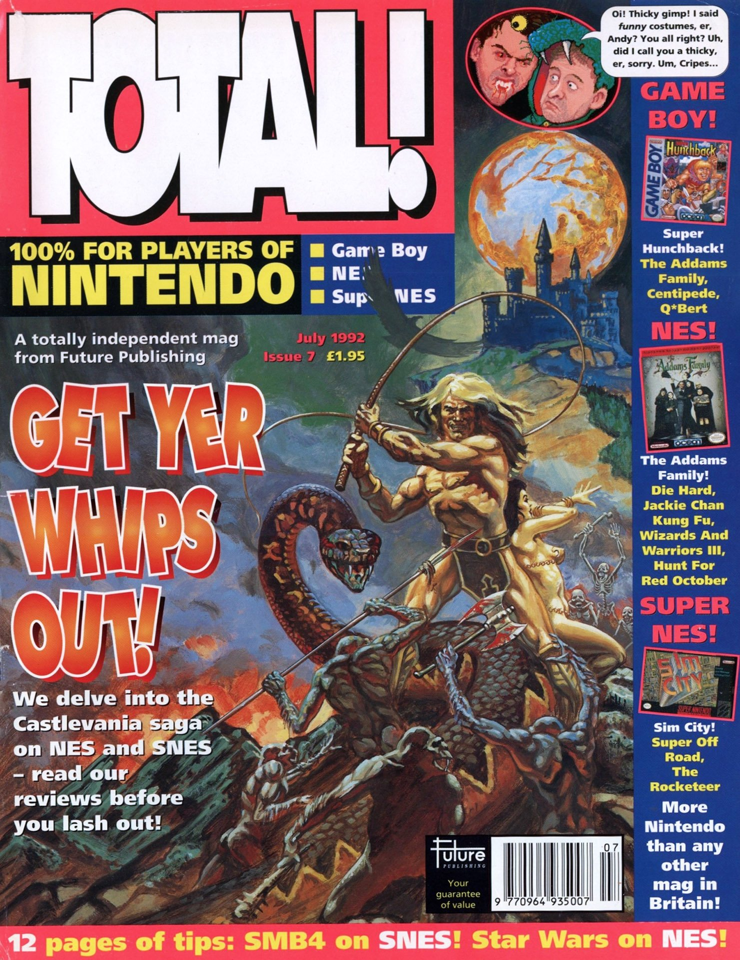 Total! Issue 07 (July 1992)