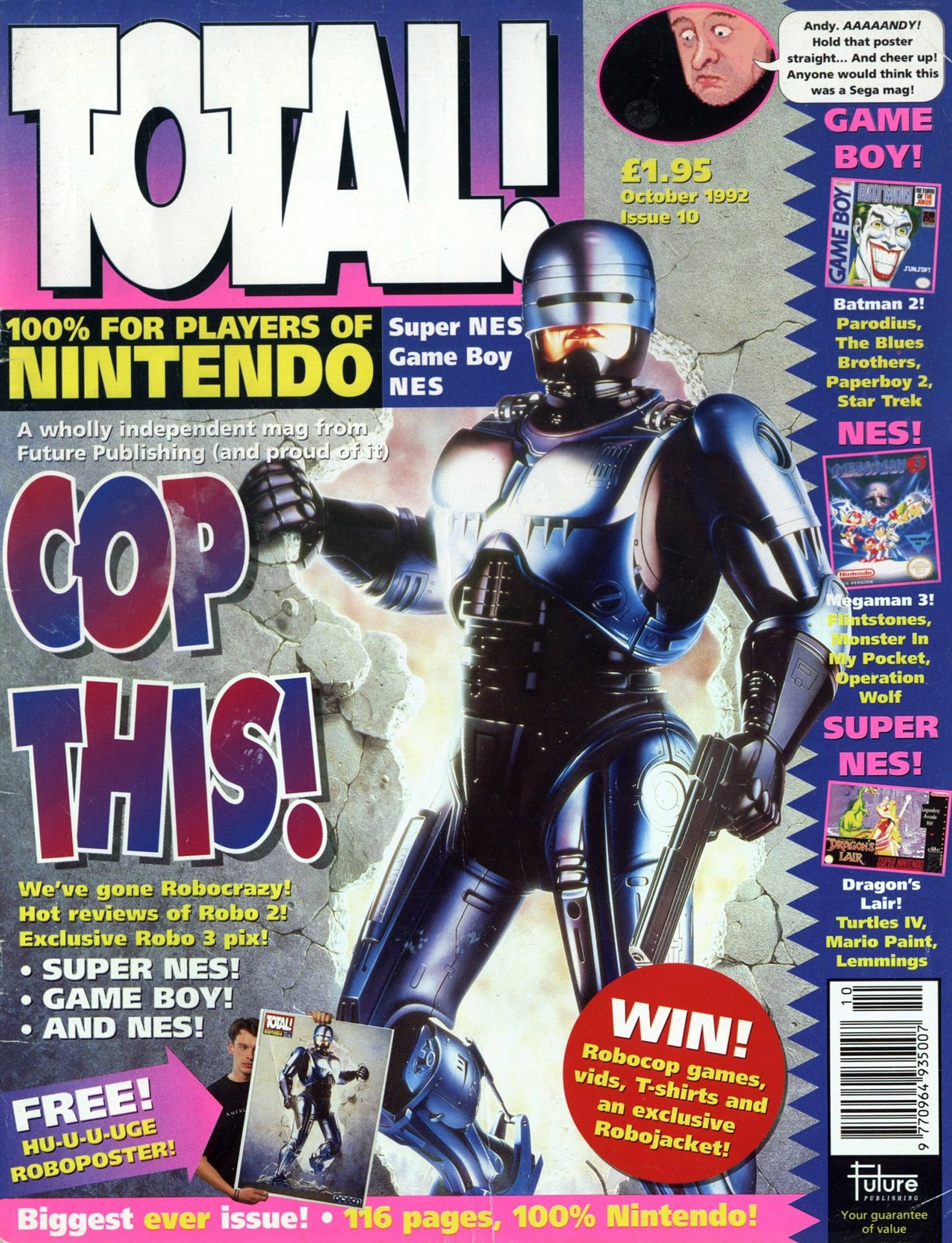 Total! Issue 10 (October 1992)