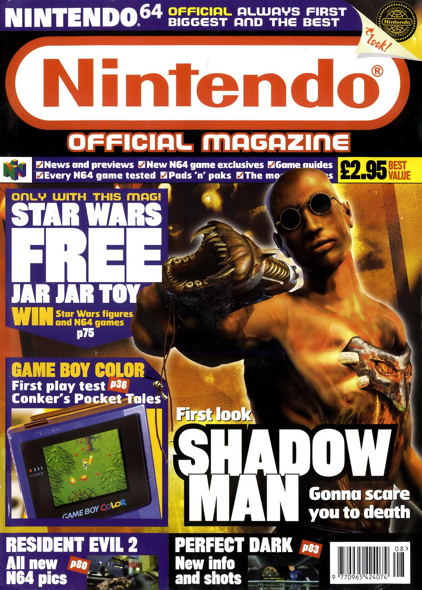 Nintendo Official Magazine 083 (August 1999)