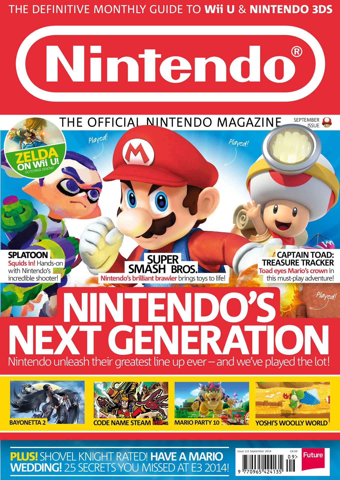 Official Nintendo Magazine 111 (September 2014)