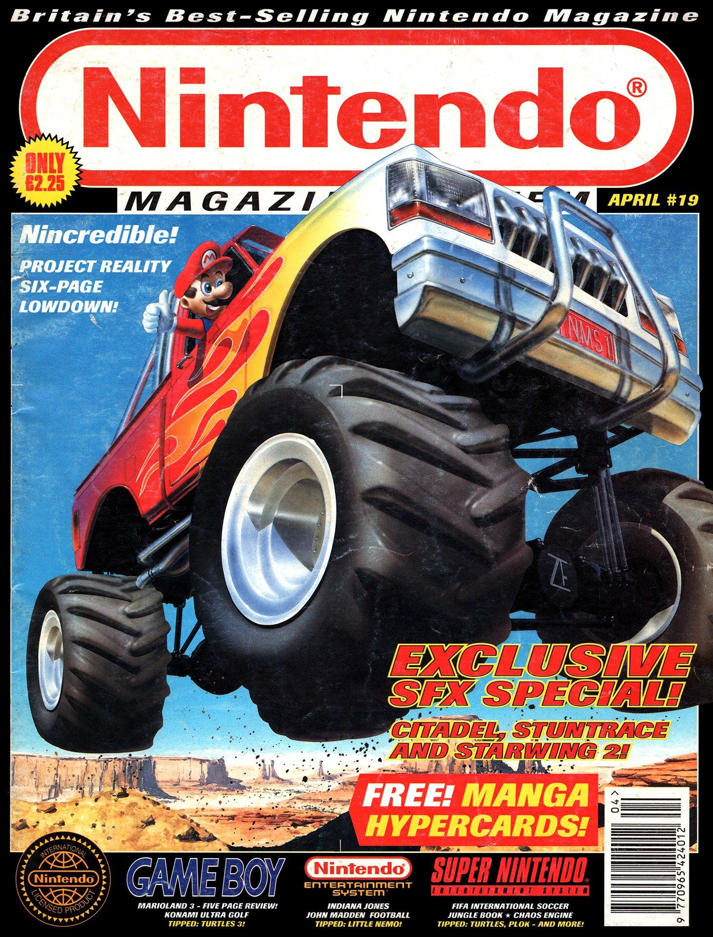 Nintendo Magazine System 019 (April 1994)