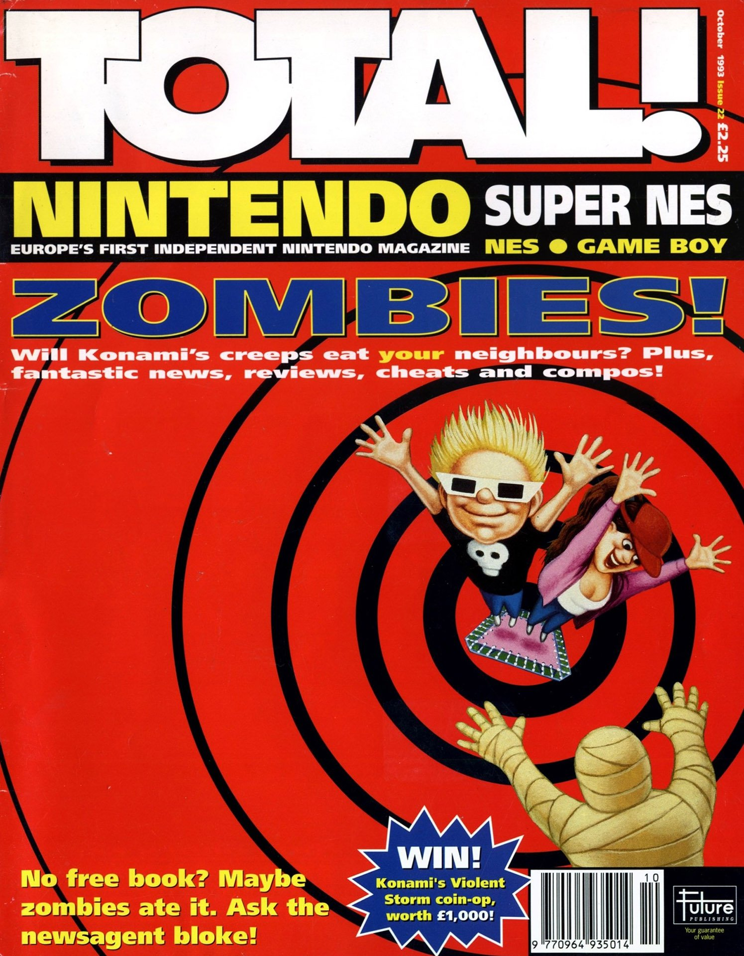 Total! Issue 22 (October 1993)