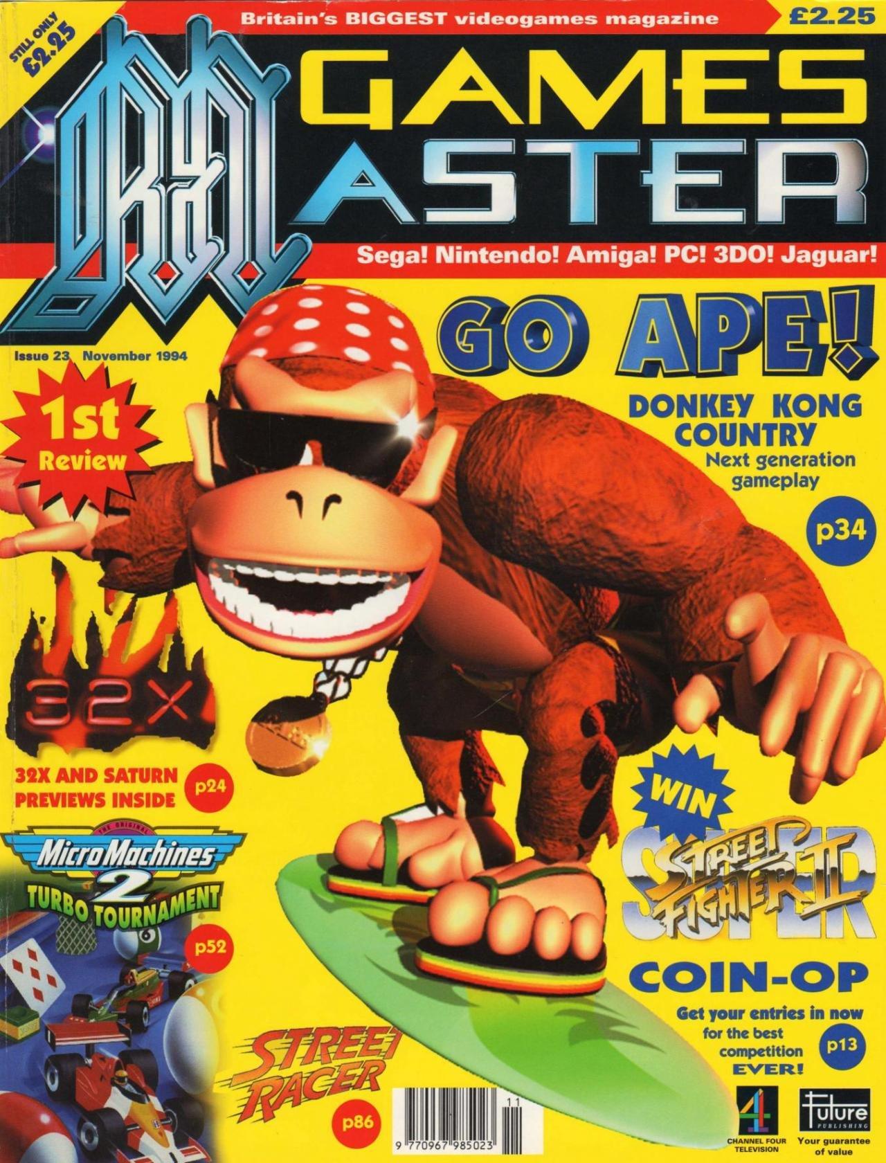 GamesMaster Issue 023 (November 1994)