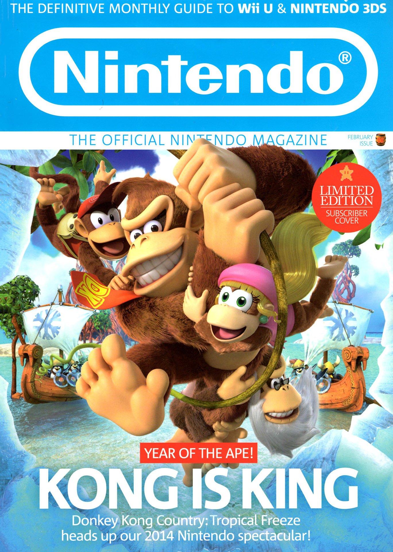 Official Nintendo Magazine 104 (February 2014) (subscriber cover)