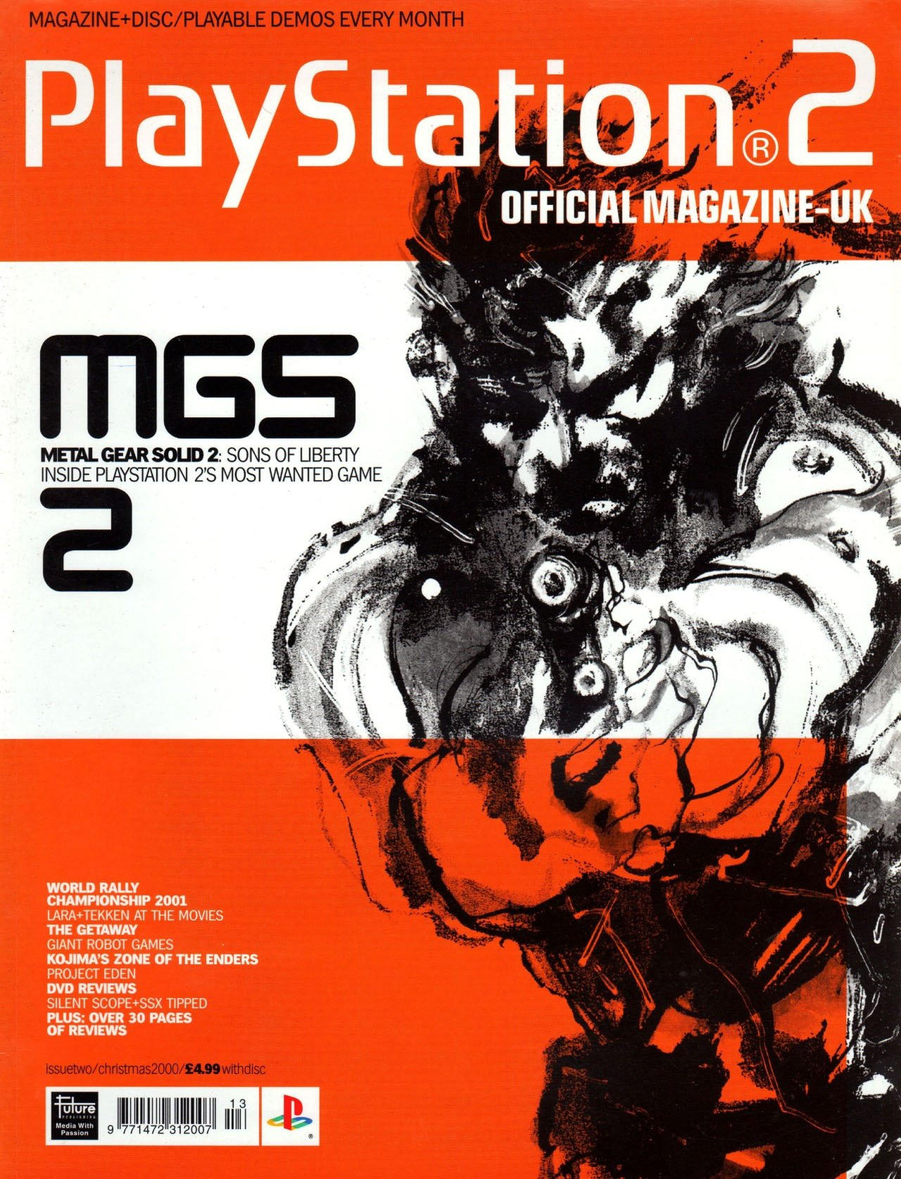 Official Playstation 2 Magazine UK 002 (Christmas 2000)