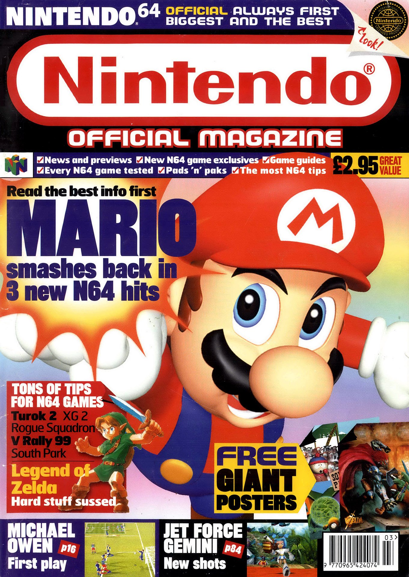Nintendo Official Magazine 078 (March 1999)