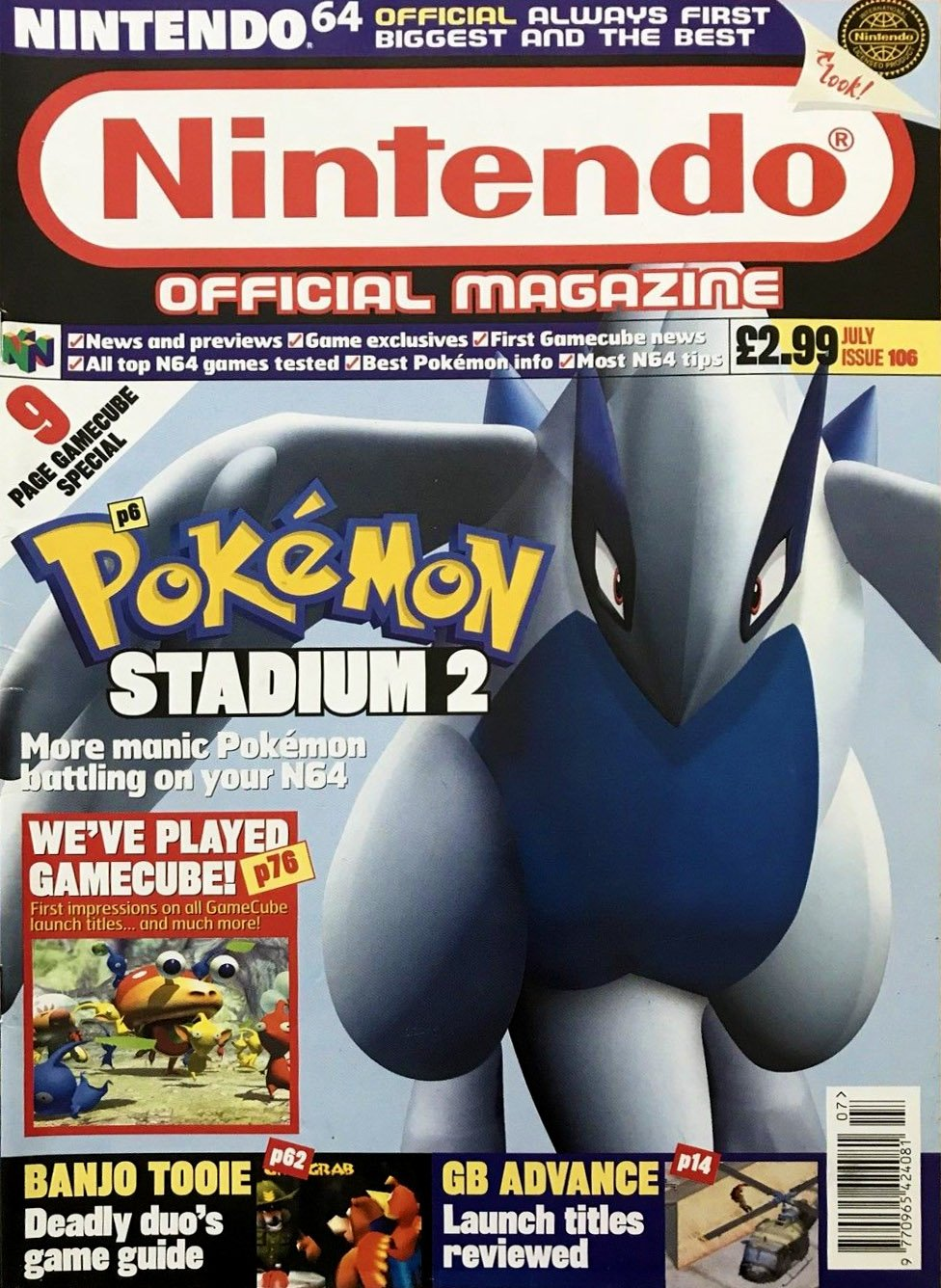 Nintendo Official Magazine 106 (July 2001)