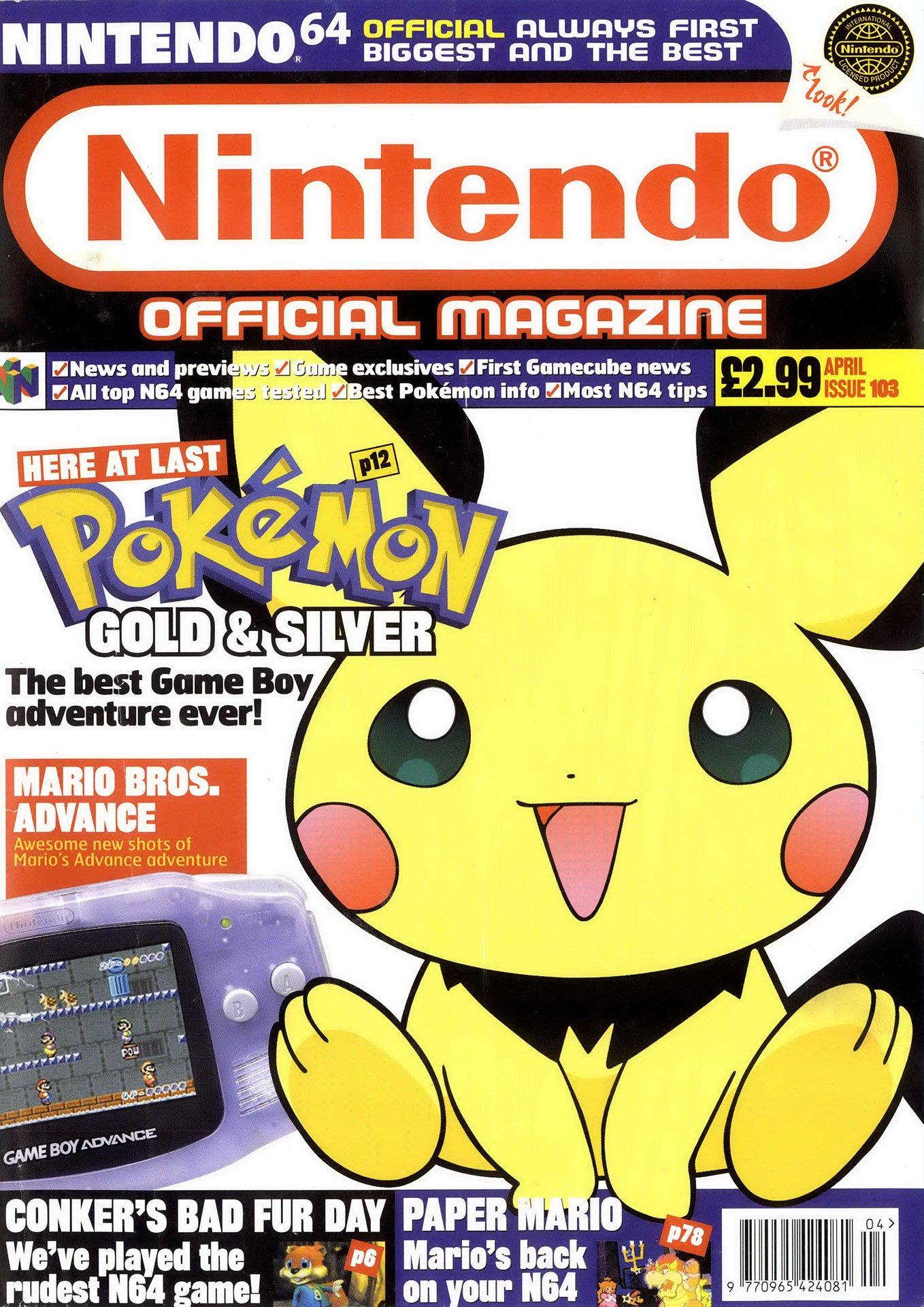 Nintendo Official Magazine 103 (April 2001)