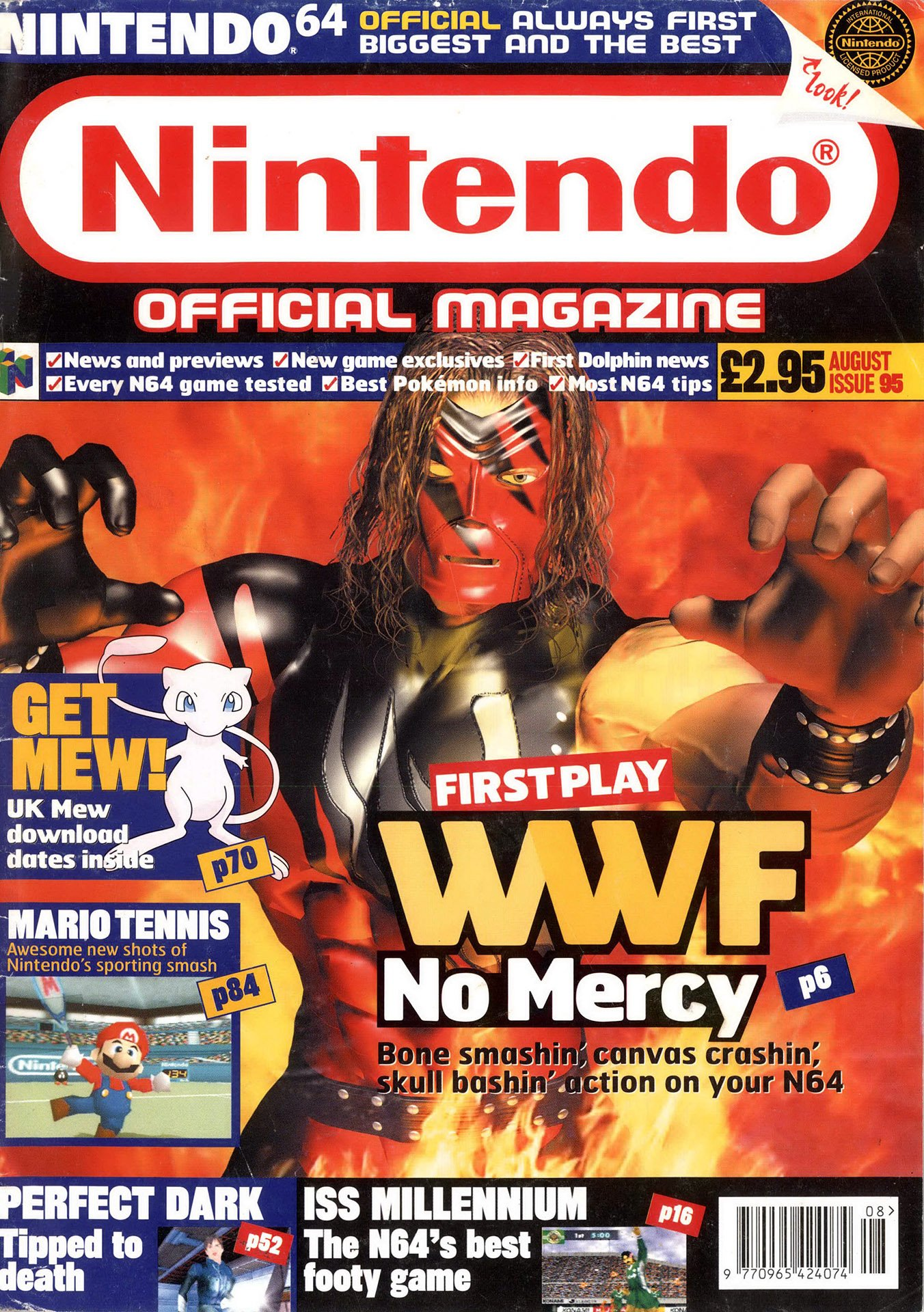 Nintendo Official Magazine 095 (August 2000)