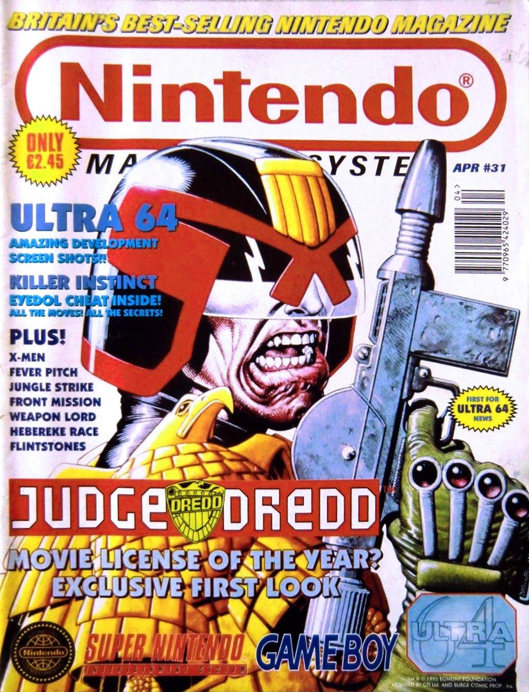 Nintendo Magazine System 031 (April 1995)