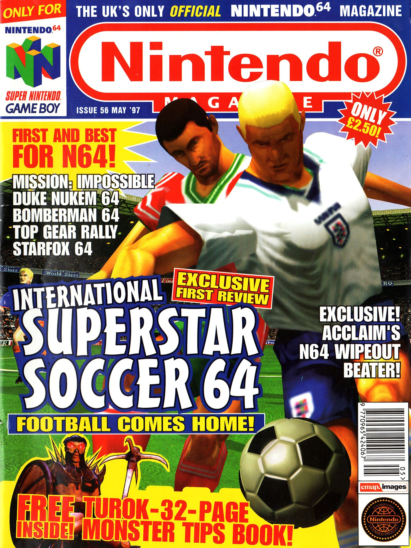 Nintendo Official Magazine 056 (May 1997)