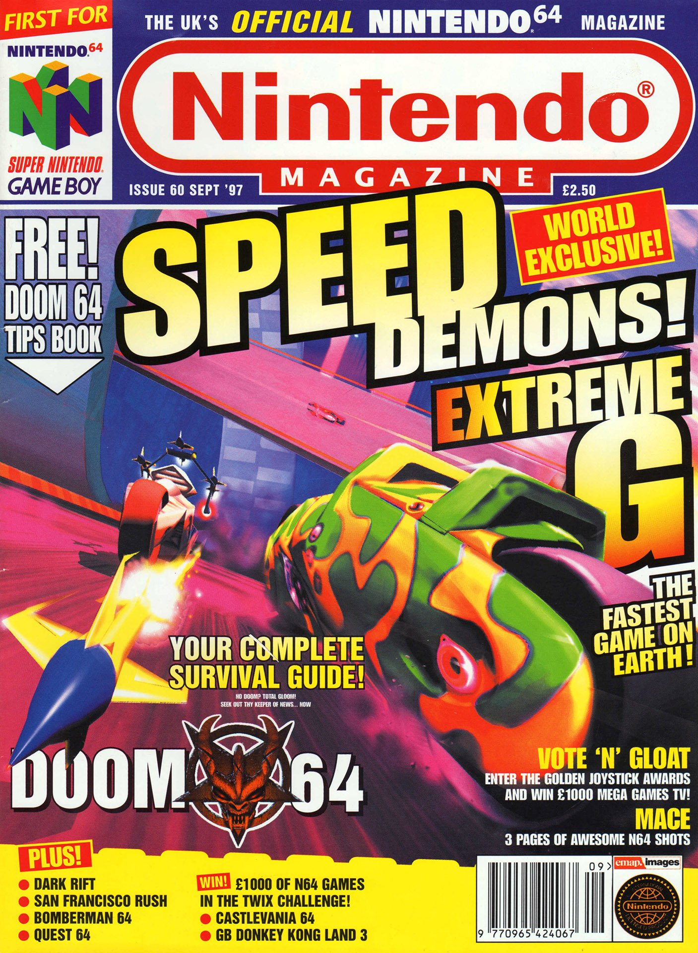 Nintendo Official Magazine 060 (September 1997)