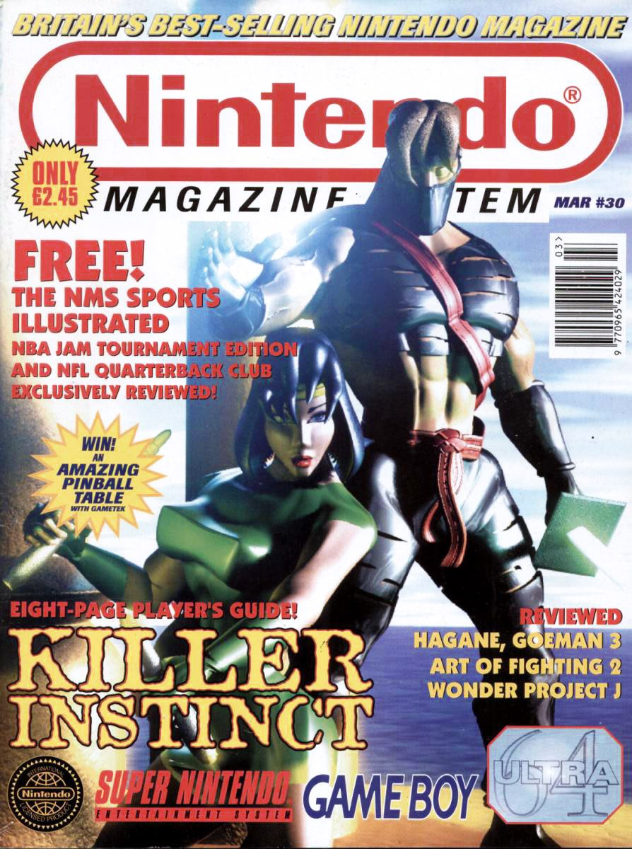 Nintendo Magazine System 030 (March 1995)