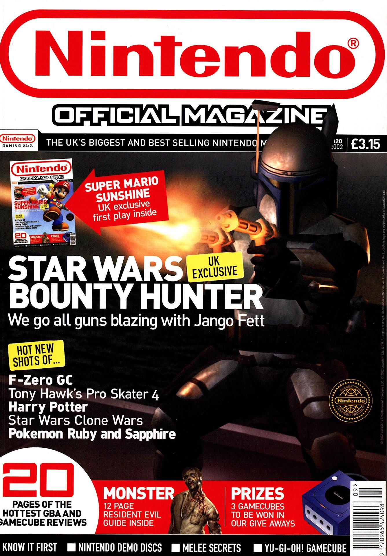 Nintendo Official Magazine 120 (September 2002) (cover 2)
