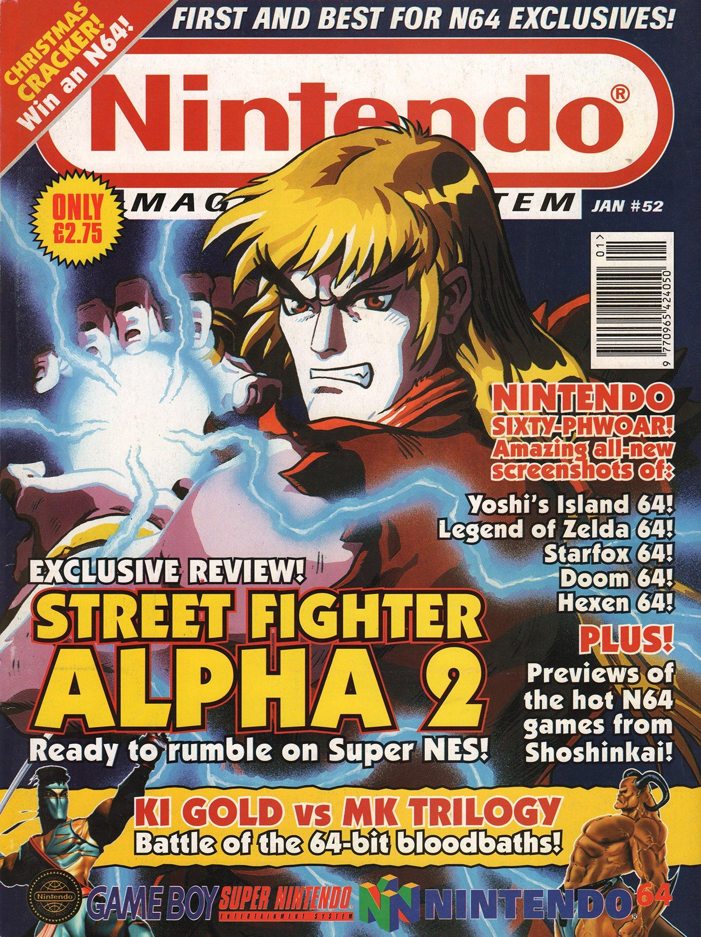 Nintendo Magazine System 052 (January 1997)