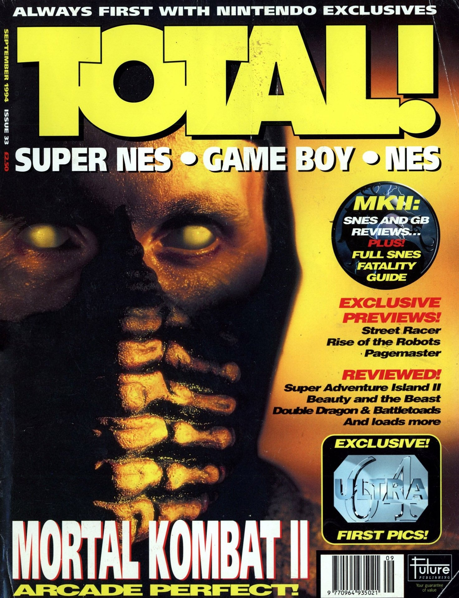 Total! Issue 33 (September 1994) - Total! - Retromags Community