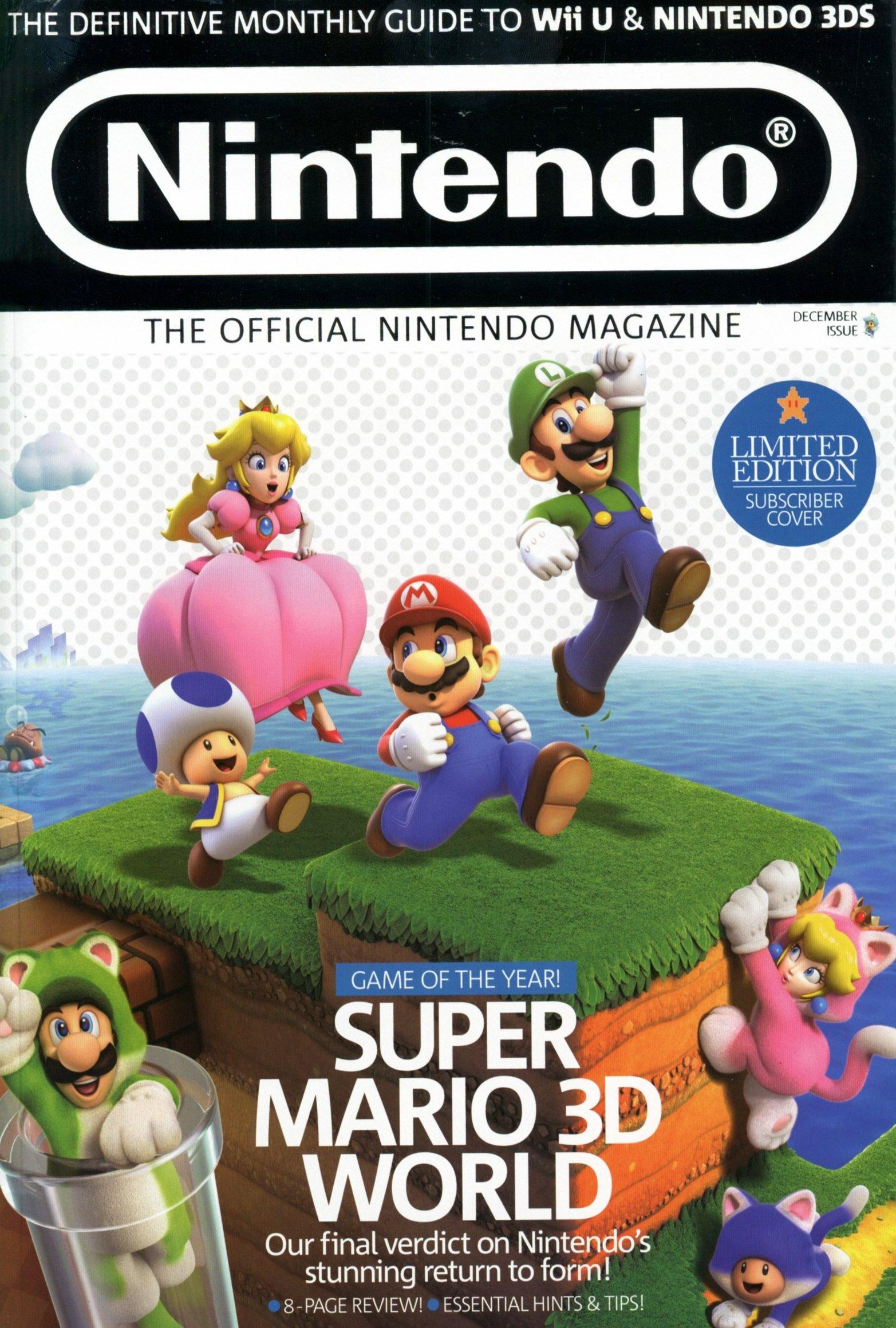 Official Nintendo Magazine 102 (December 2013) (subscriber cover)