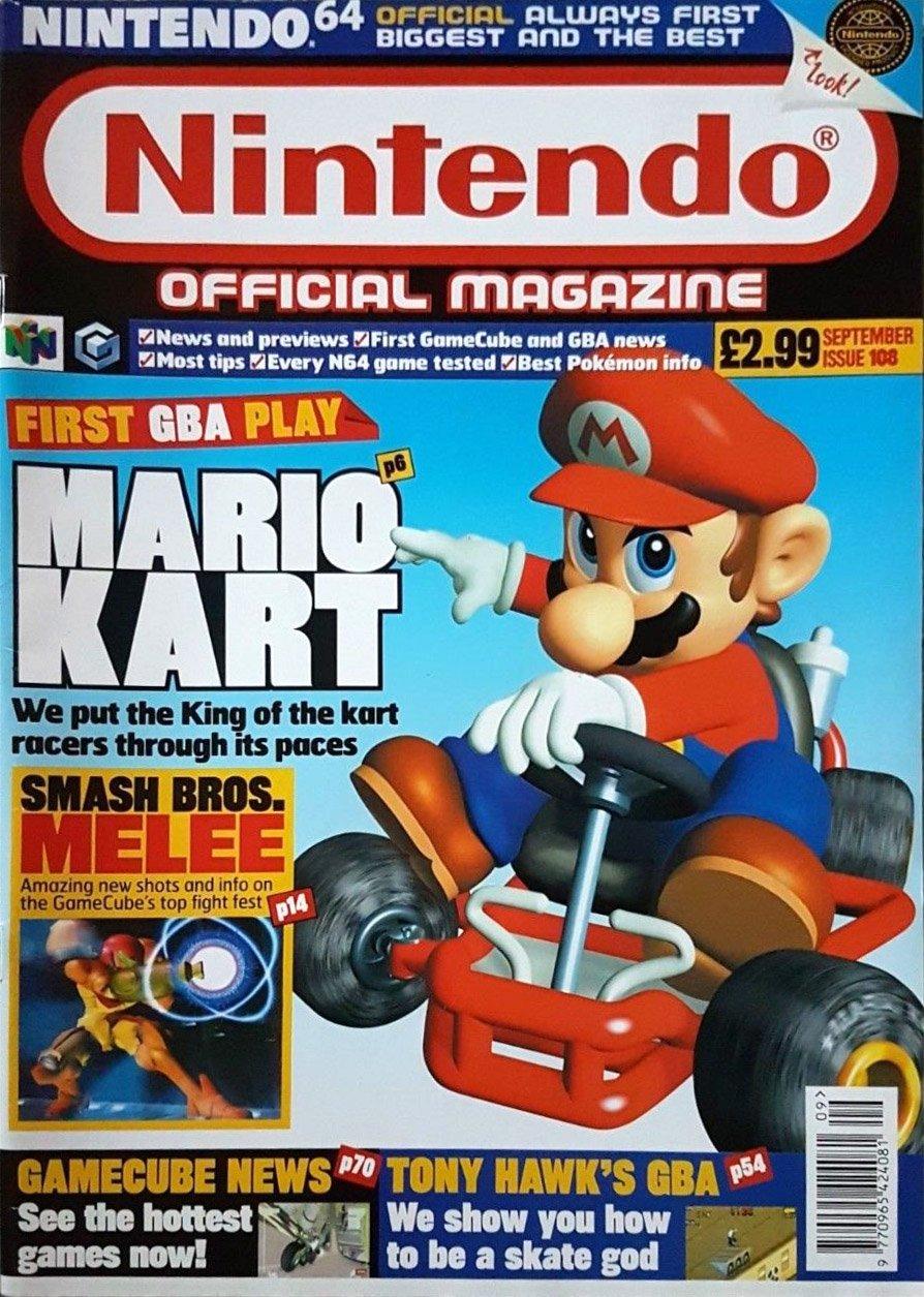 Nintendo Official Magazine 108 (September 2001)