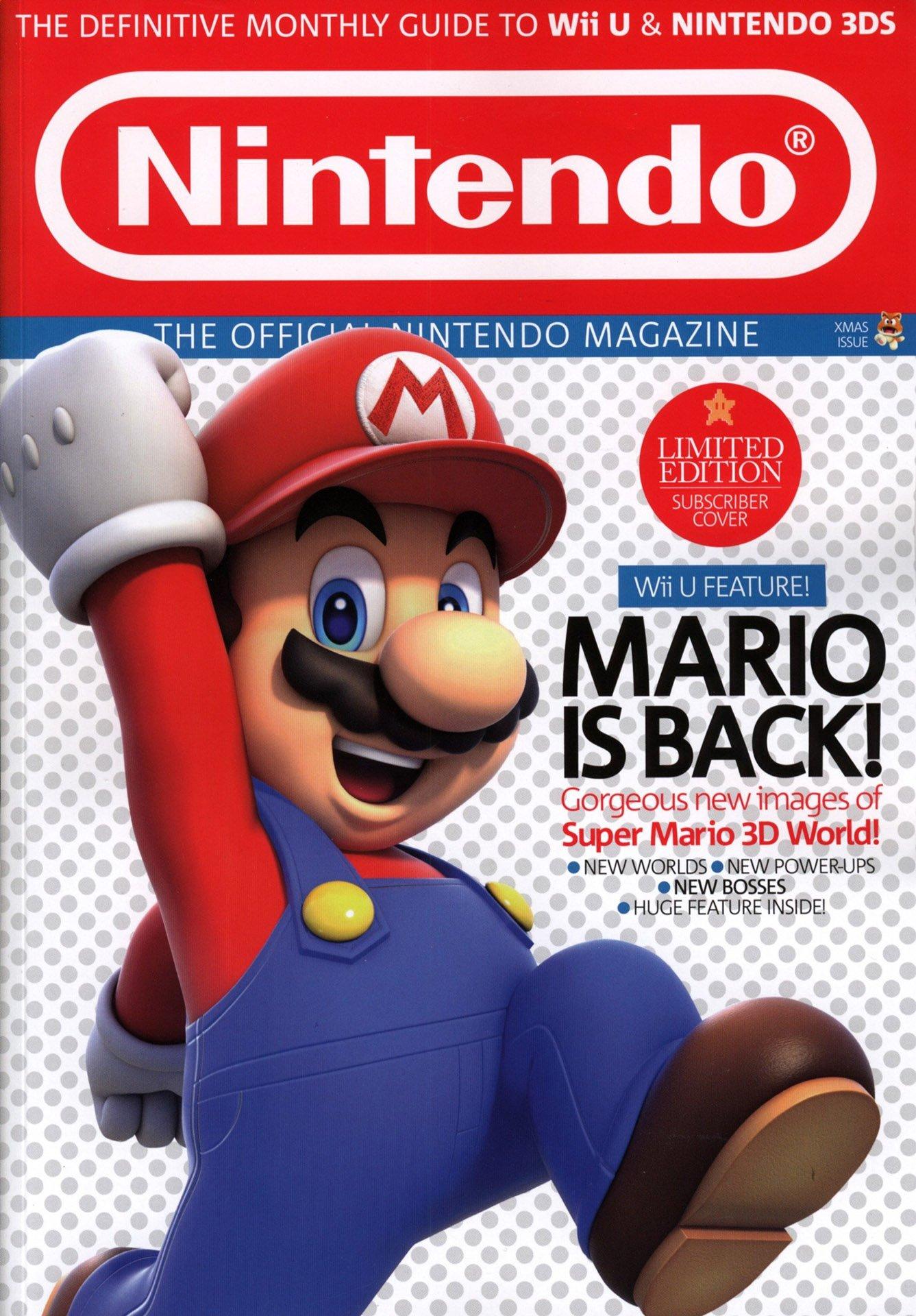 Official Nintendo Magazine 101 (Christmas 2013) (subscriber cover)