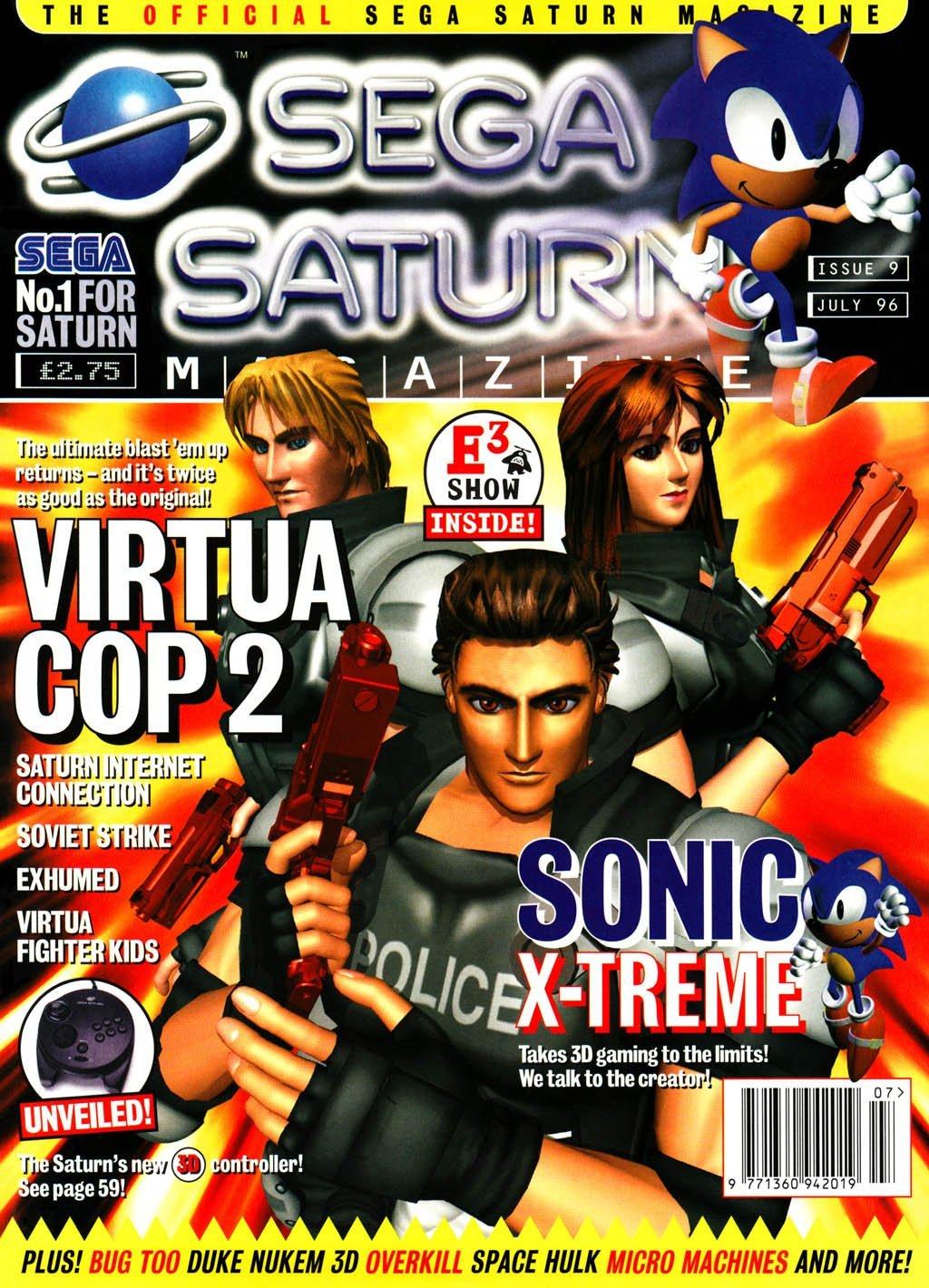 Official Sega Saturn Magazine 09 (July 1996)
