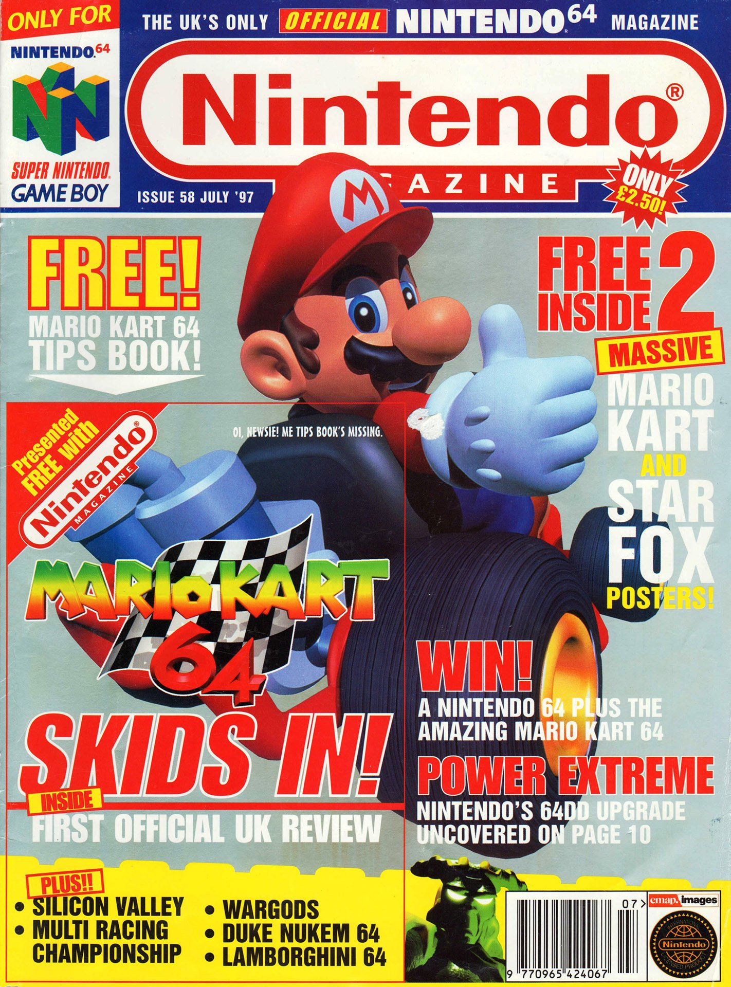 Nintendo Official Magazine 058 (July 1997)