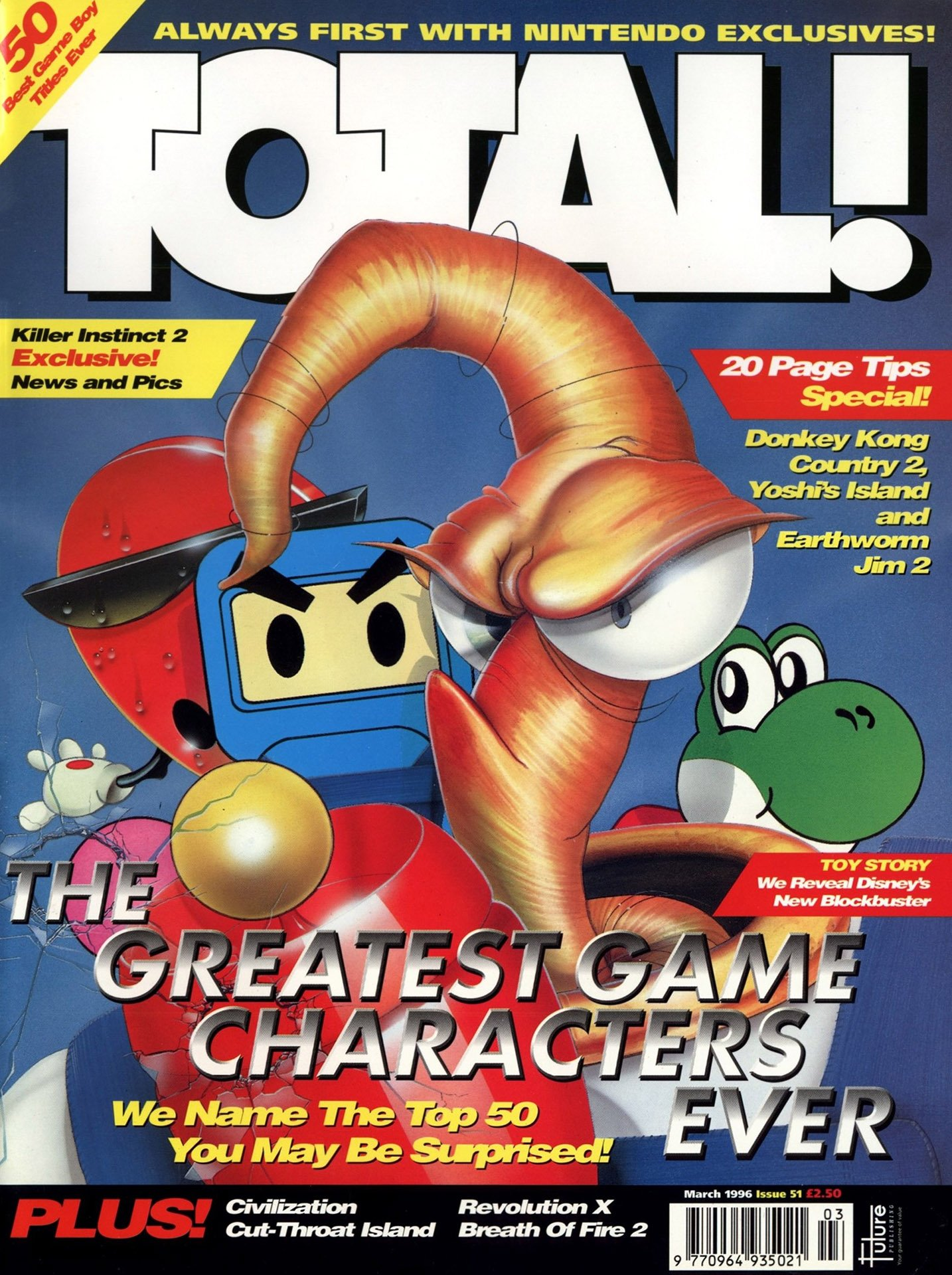 Total! Issue 51 (March 1996)