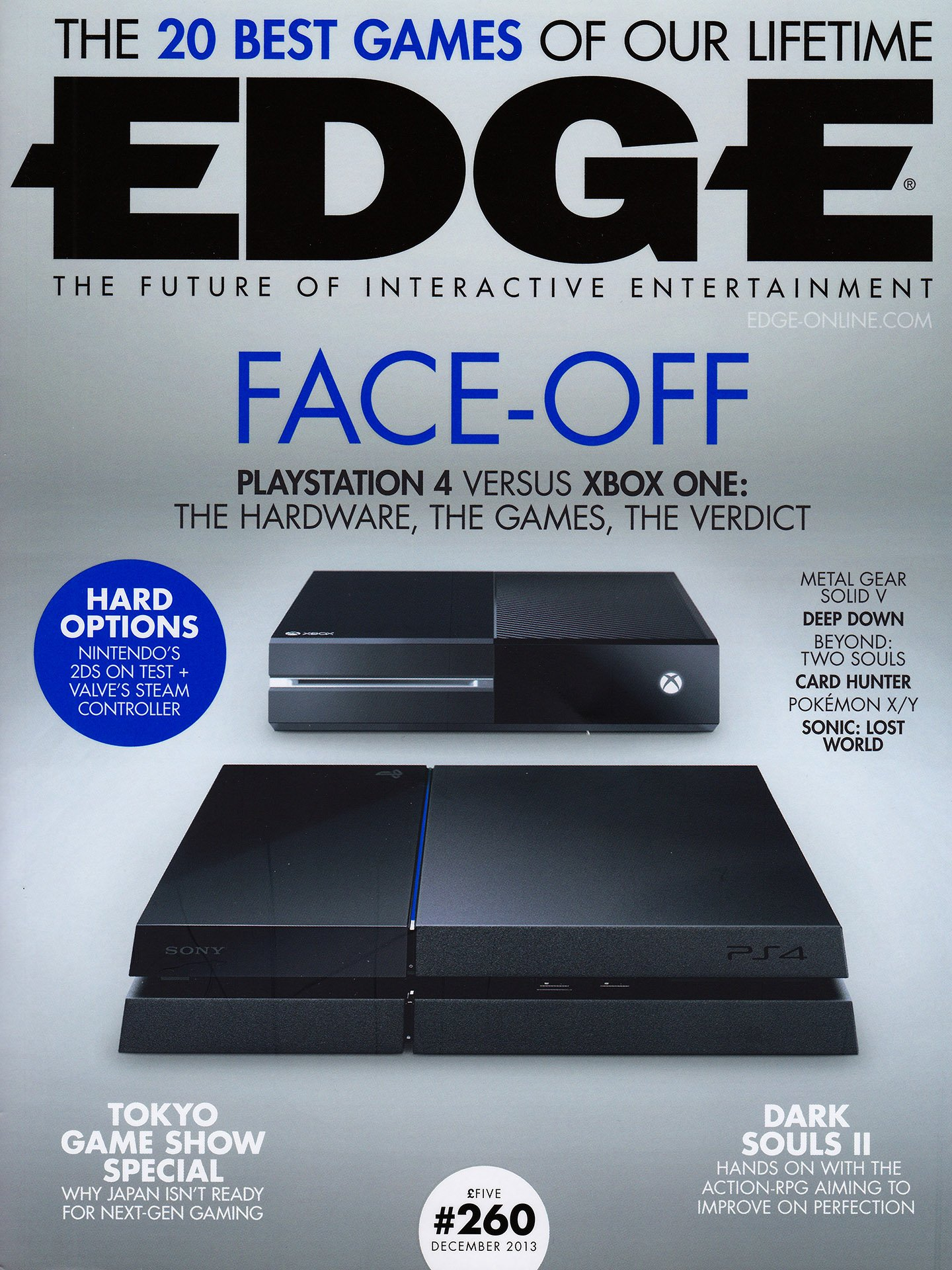 Edge 260 (December 2013) (PlayStation cover)