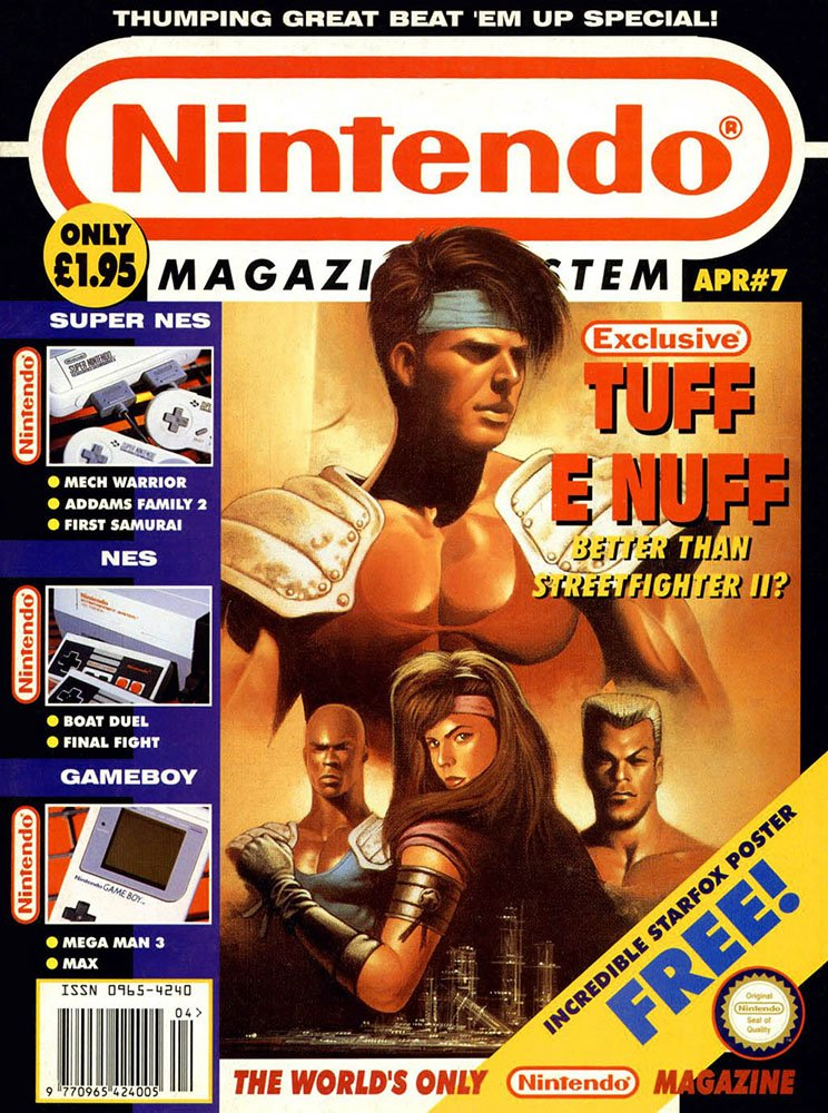 Nintendo Magazine System 007 (April 1993)