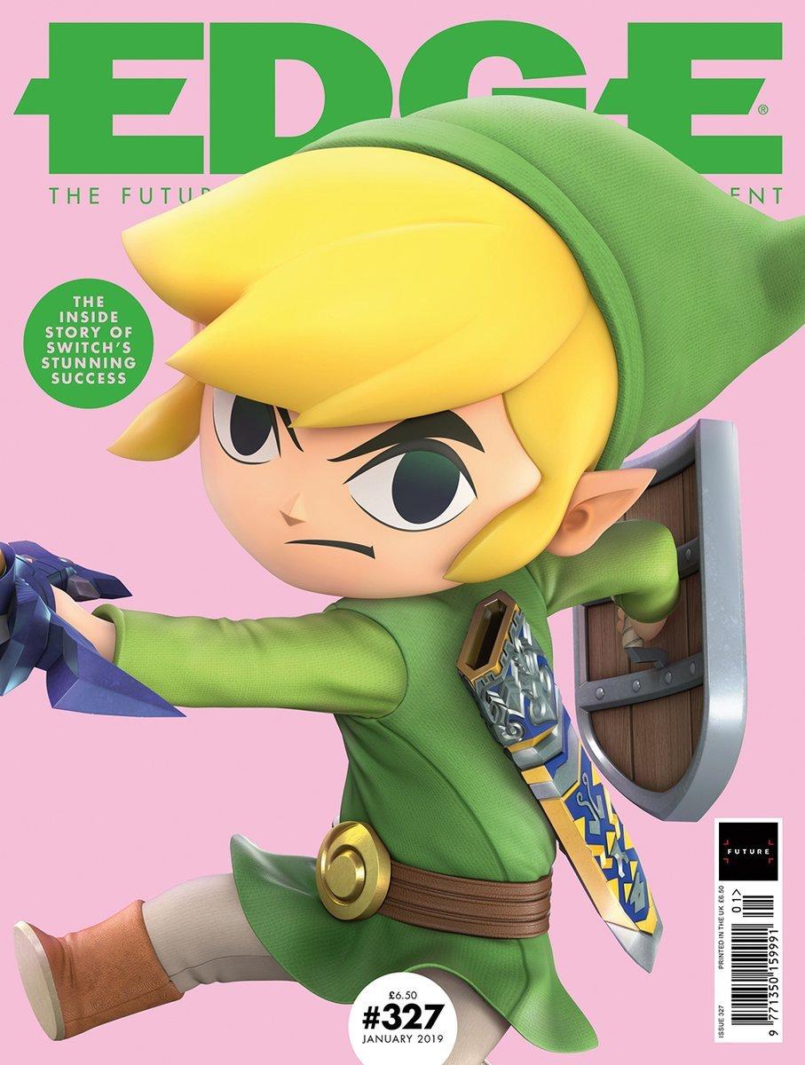 Edge 327 (January 2019) (cover 2)