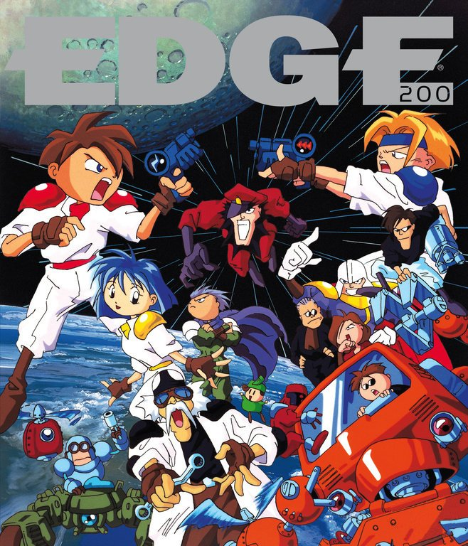 Edge 200 (April 2009) (cover 082 - Gunstar heroes)
