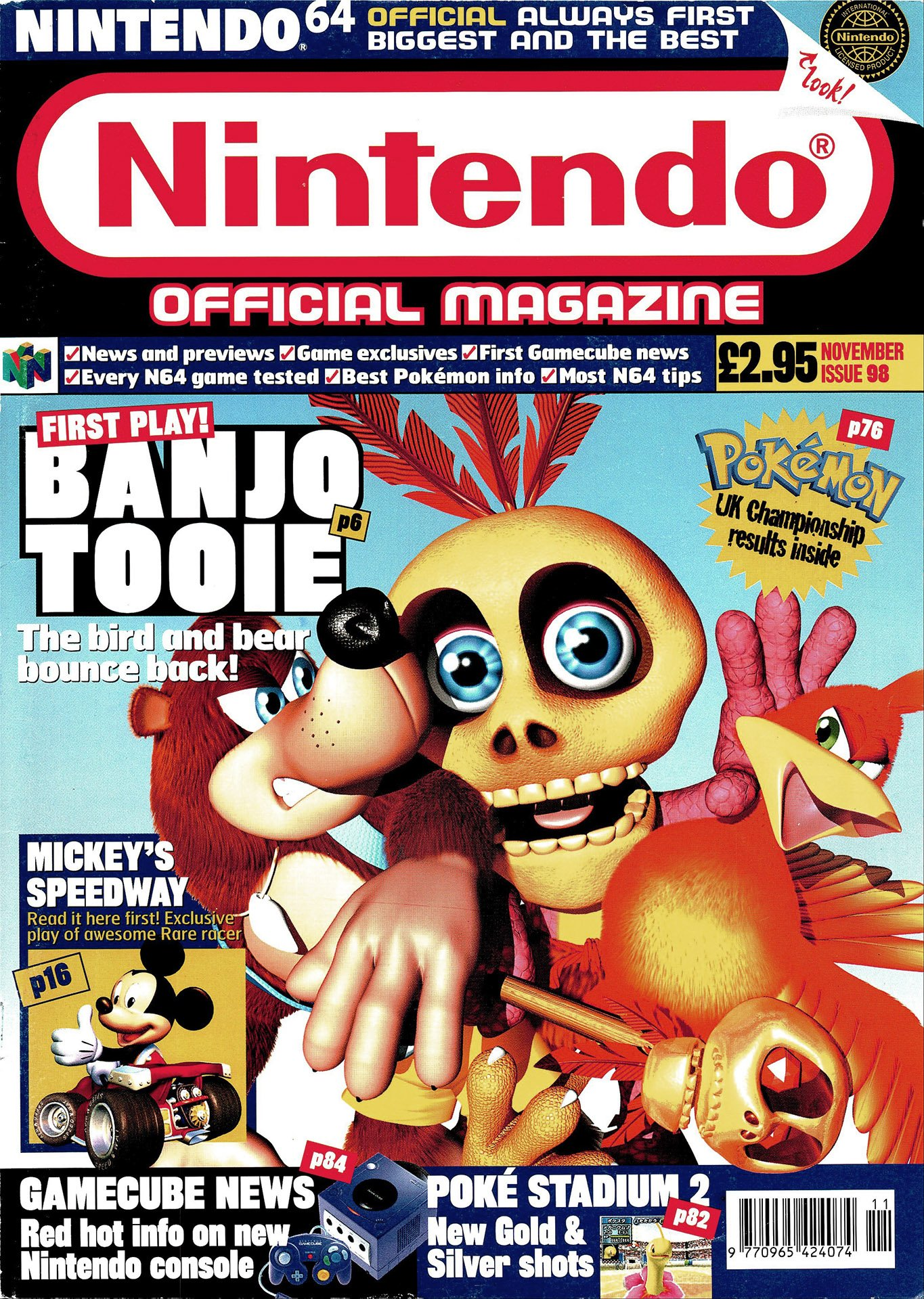 Nintendo Official Magazine 098 (November 2000)