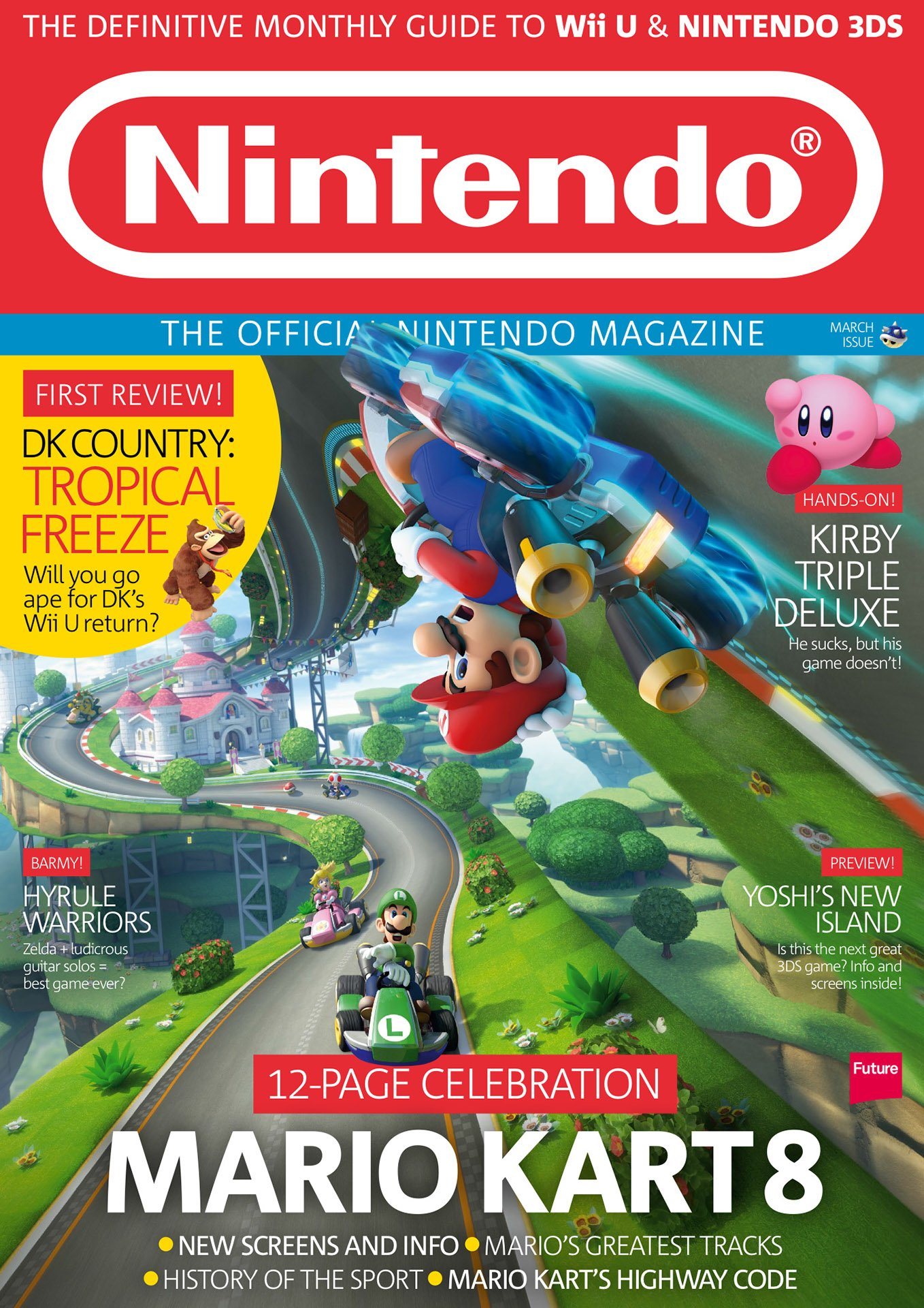 Official Nintendo Magazine 105 (March 2014)