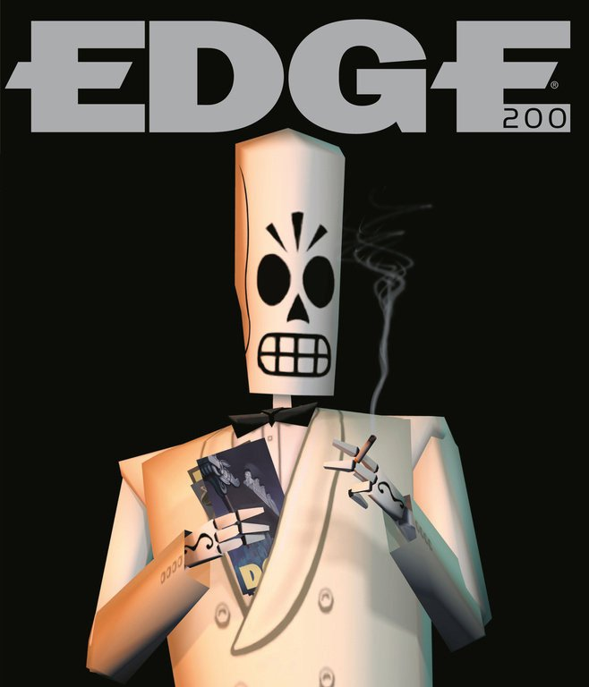 Edge 200 (April 2009) (cover 003 - Manuel 'Manny' Calavera - Grim Fandango)