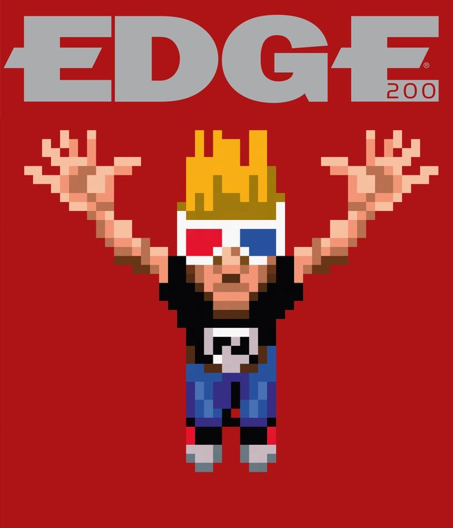 Edge 200 (April 2009) (cover 057 - Zeke - Zombies Ate My Neighbours)
