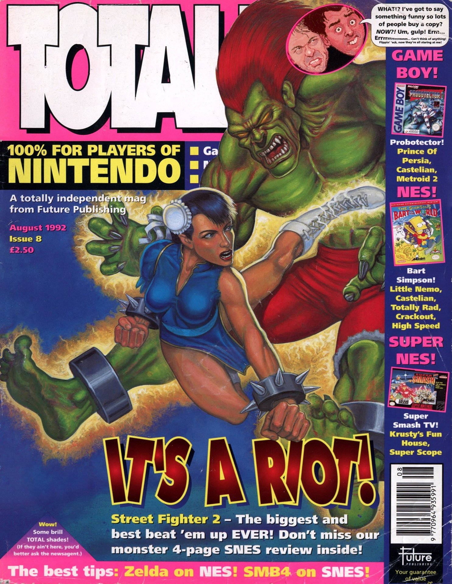 Total! Issue 08 (August 1992)