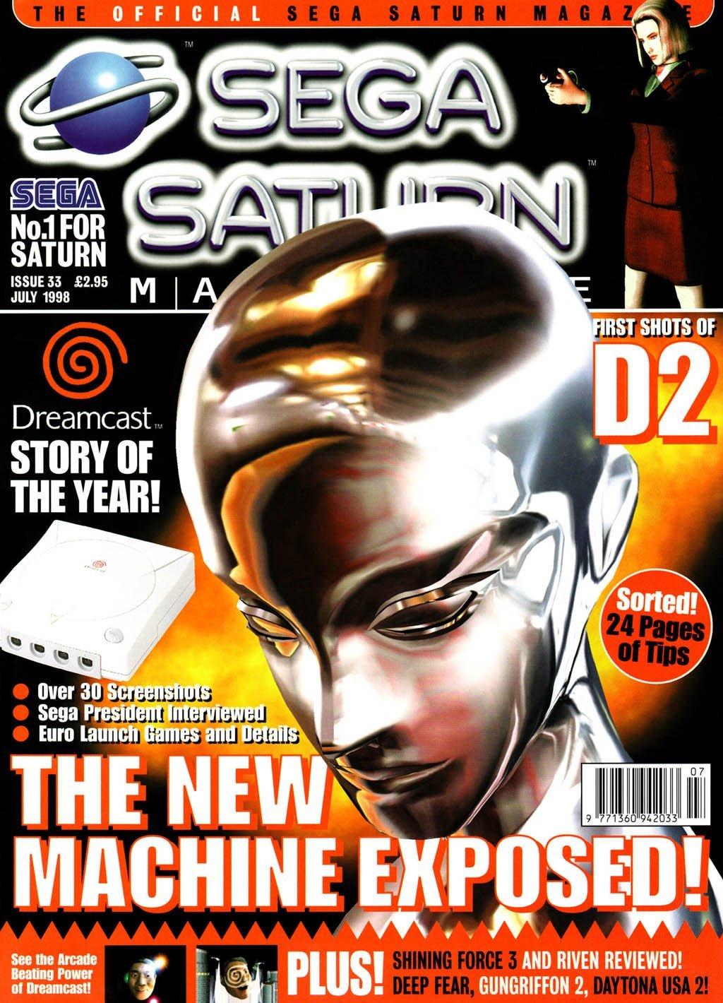 Official Sega Saturn Magazine 33 (July 1998)