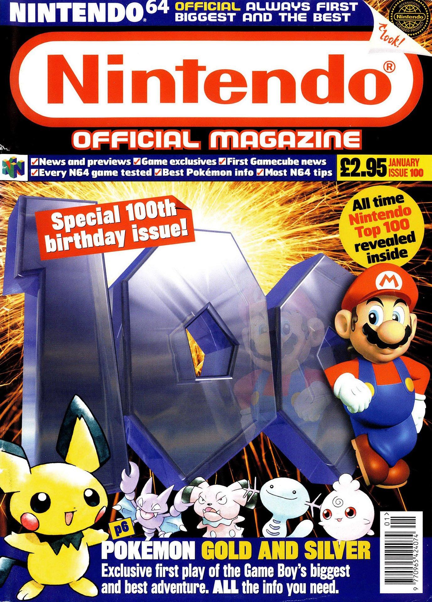 Nintendo Official Magazine 100 (January 2001)