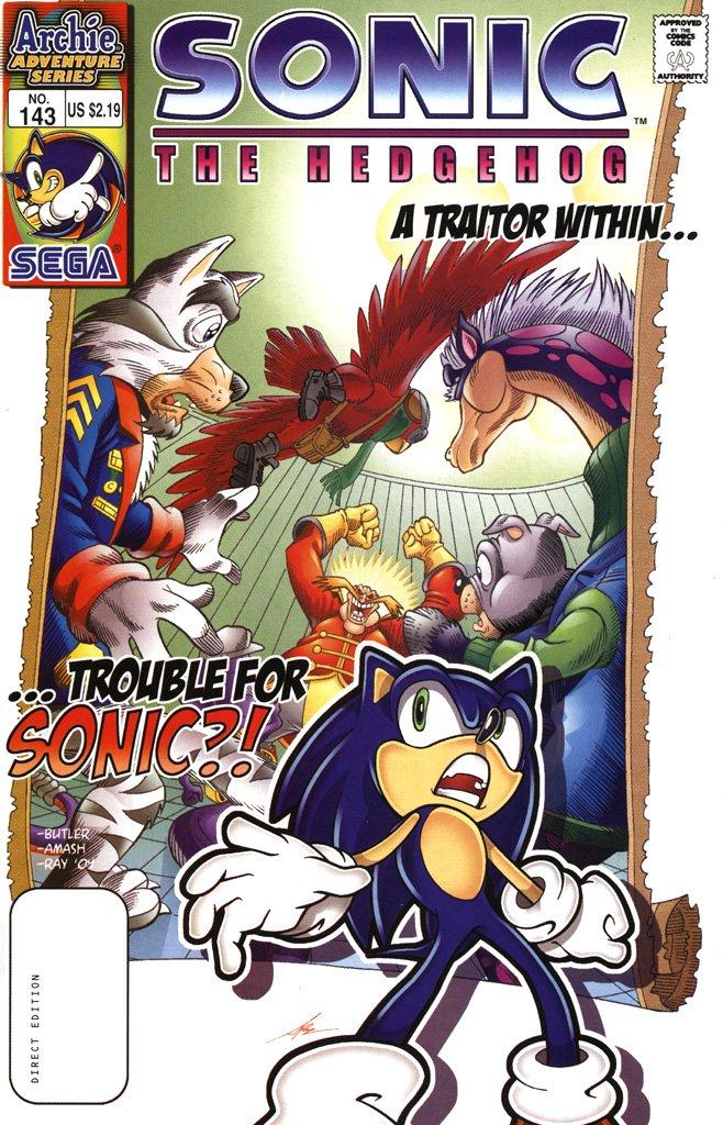 Sonic the Hedgehog 143 (February 2005)