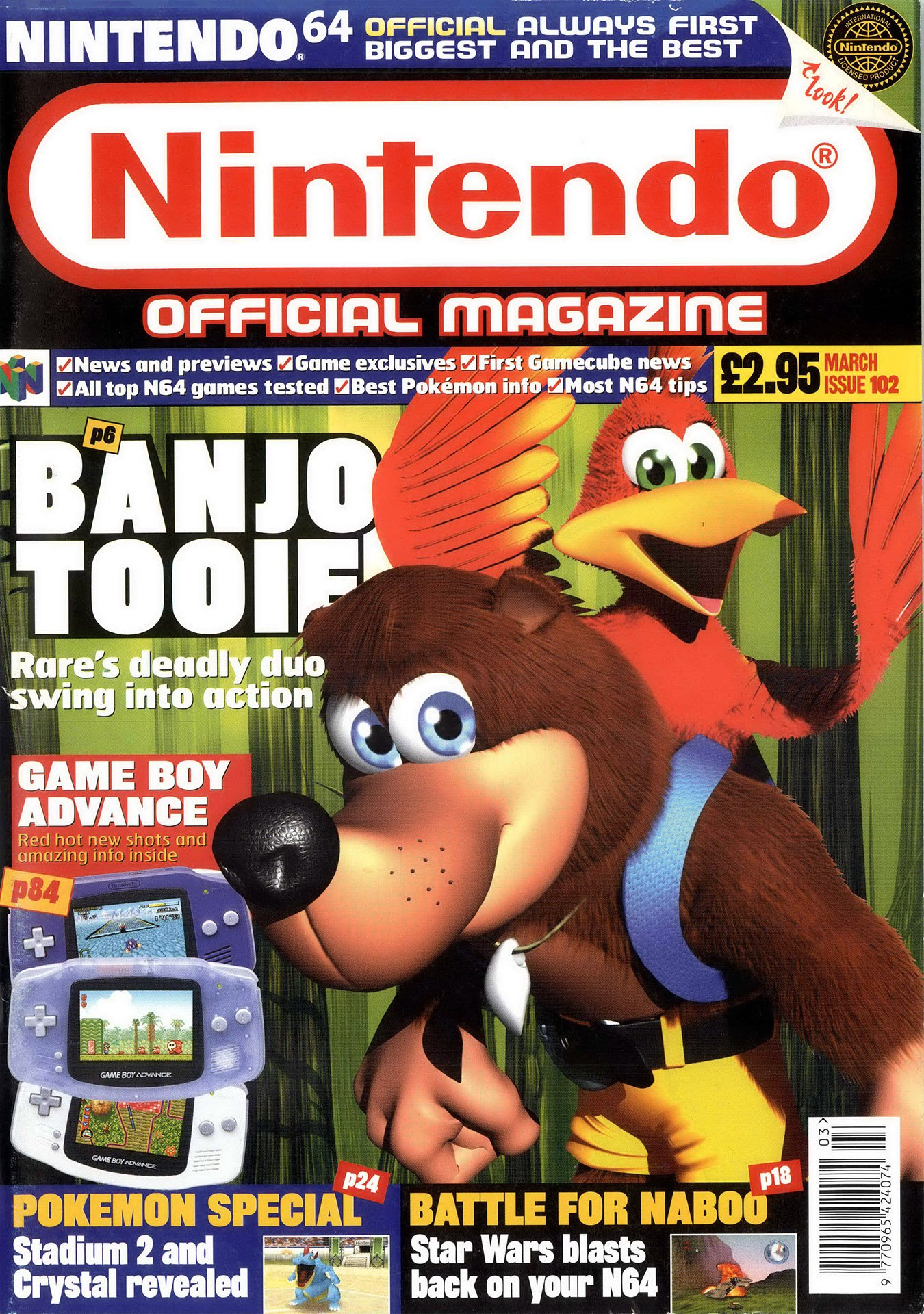 Nintendo Official Magazine 102 (March 2001)