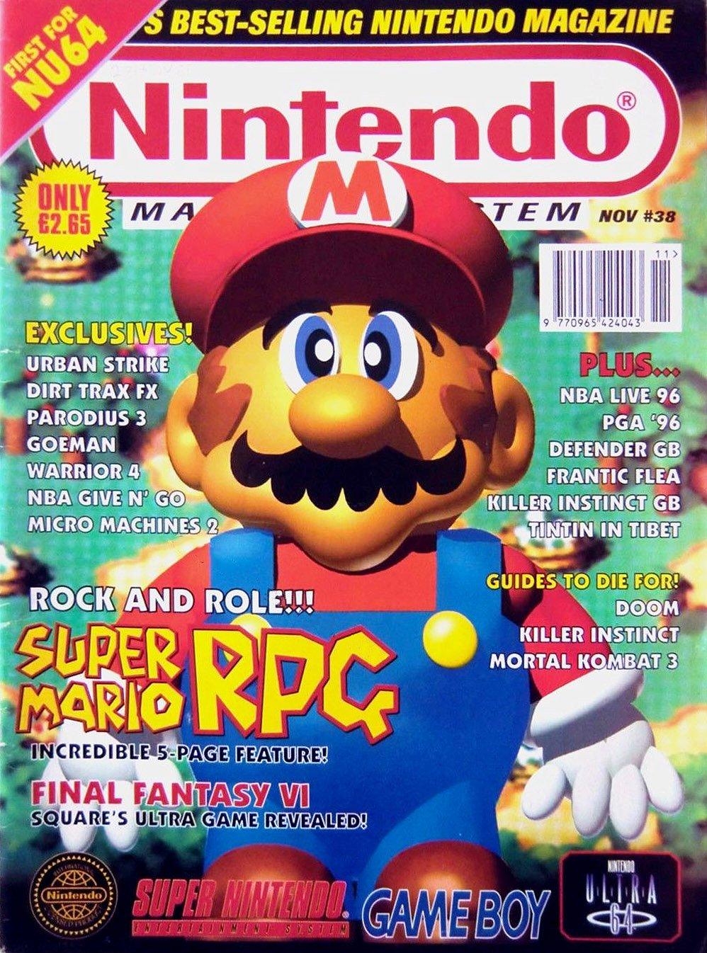 Nintendo Magazine System 038 (November 1995)