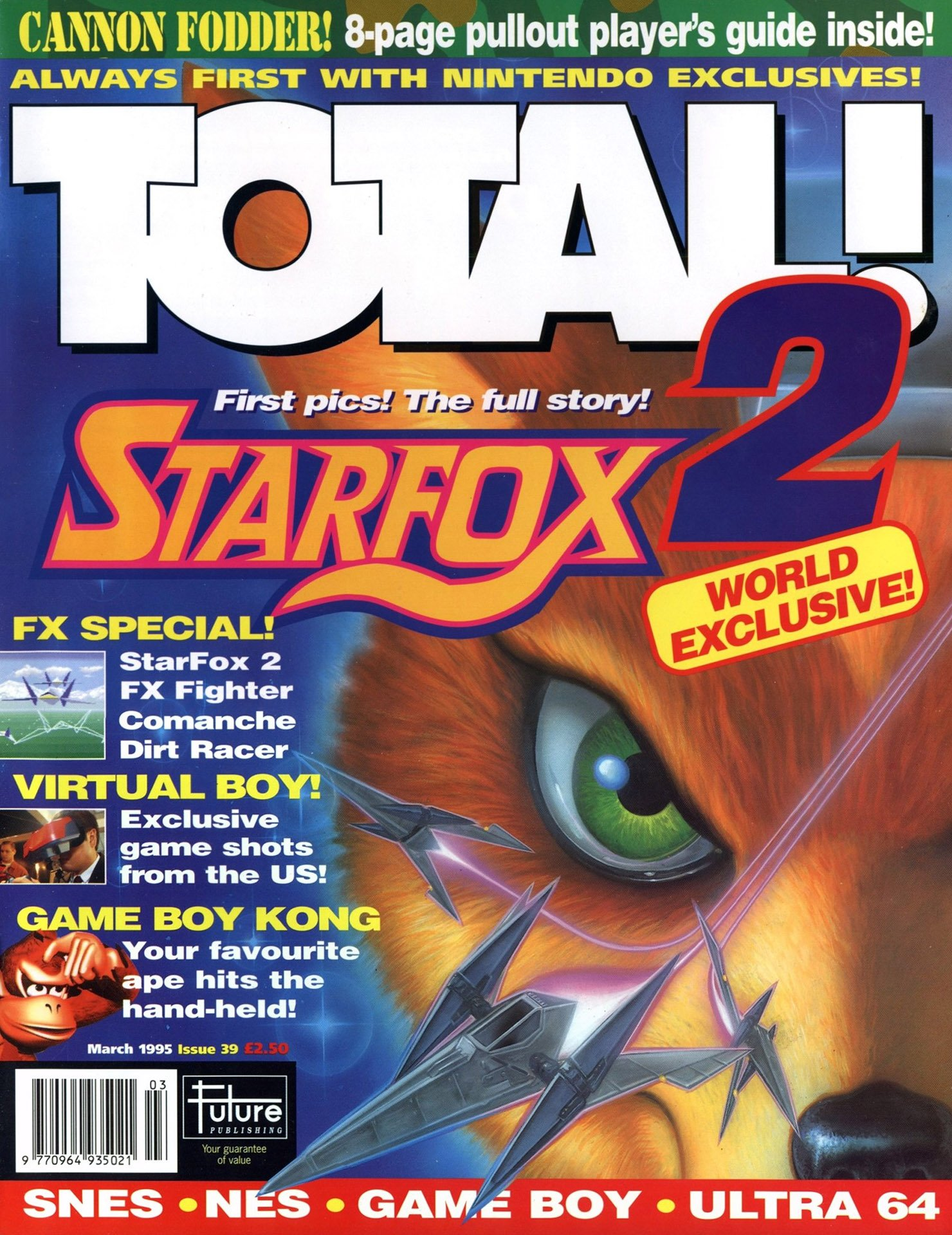 Total! Issue 39 (March 1995)