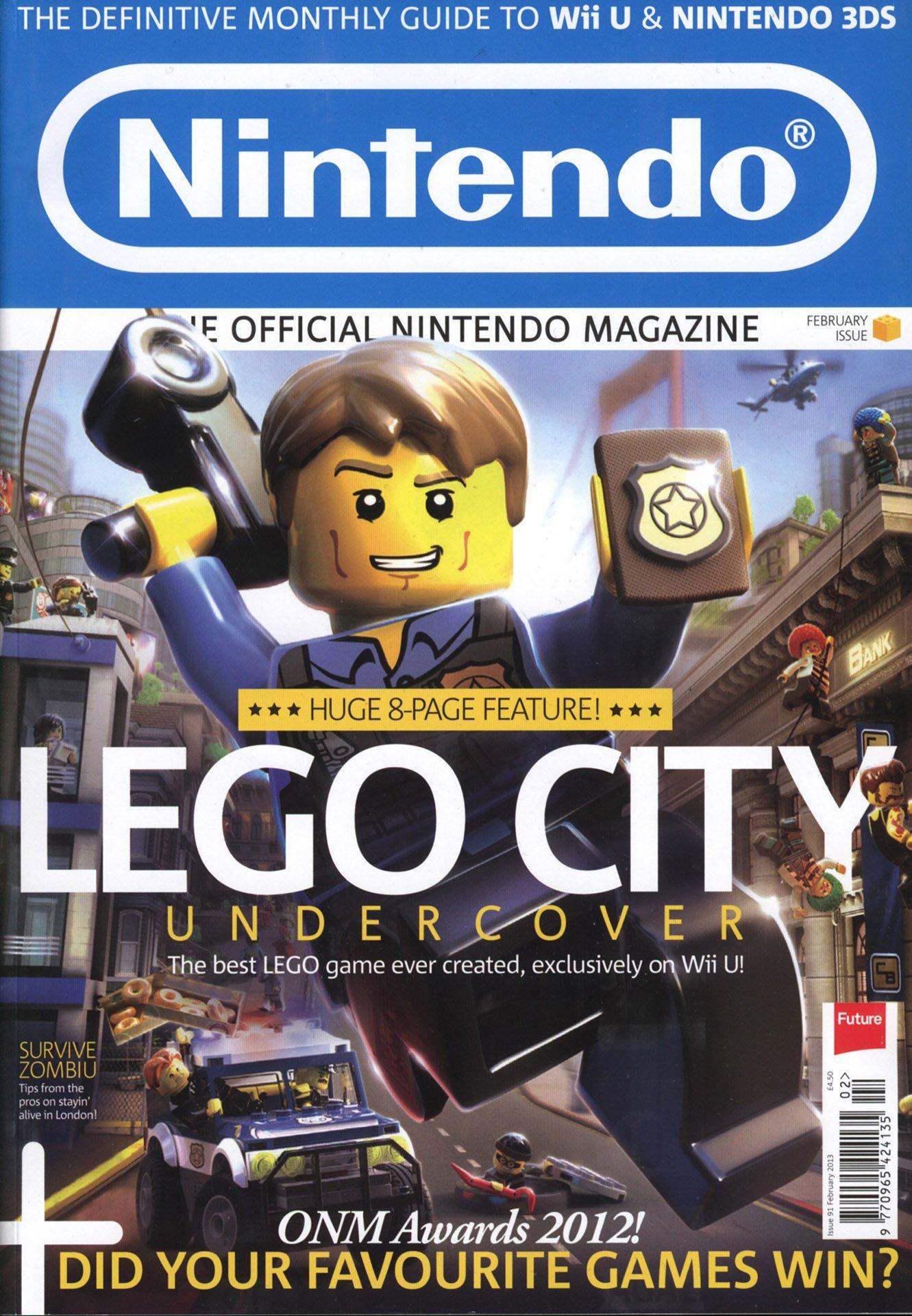 Official Nintendo Magazine 091 (February 2013)