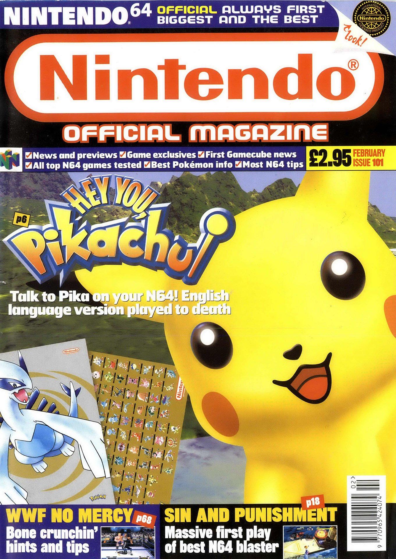 Nintendo Official Magazine 101 (February 2001)