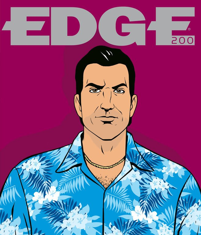 Edge 200 (April 2009) (cover 189 - Tommy Vercetti - GTA Vice City)