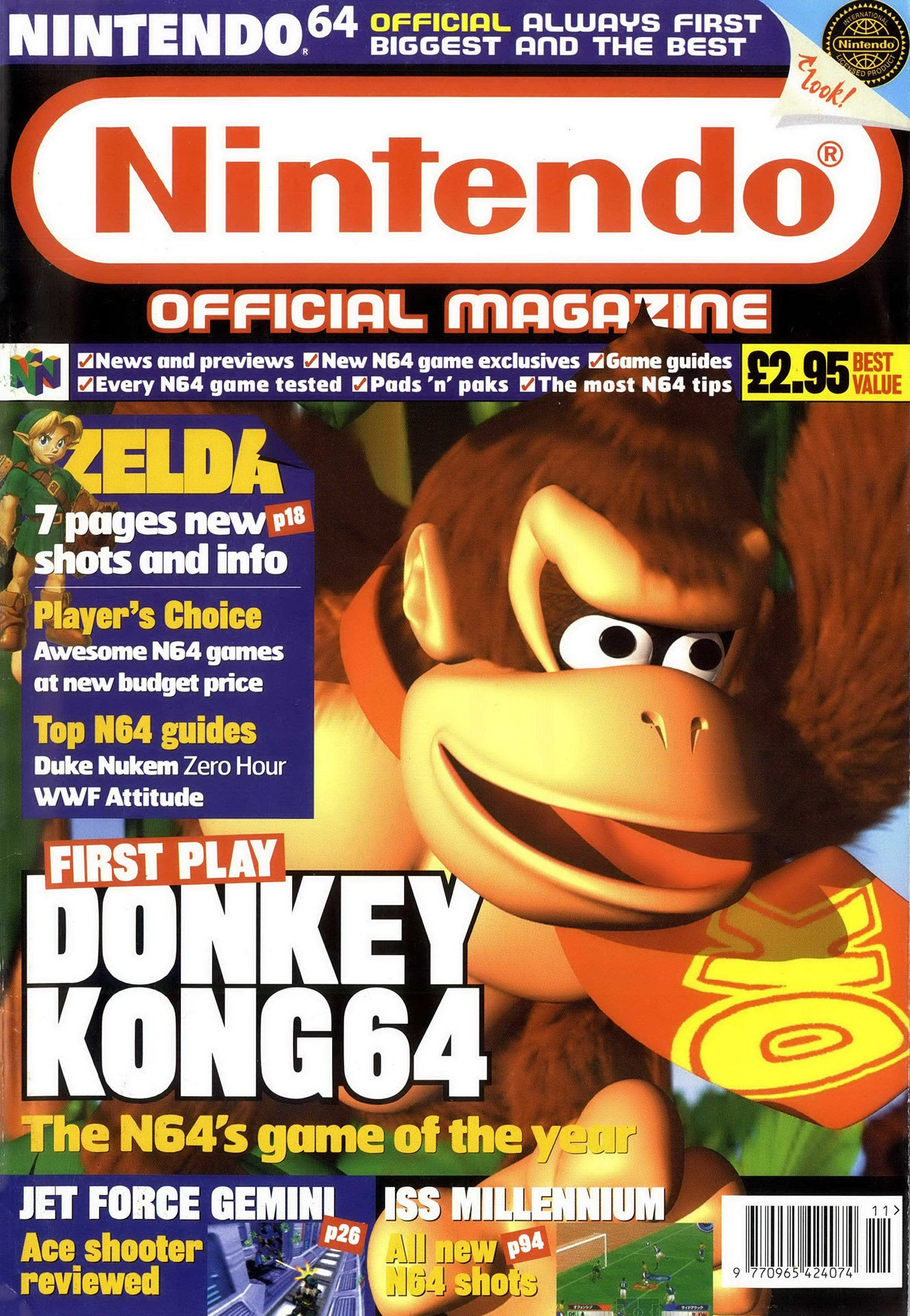 Nintendo Official Magazine 086 (November 1999)