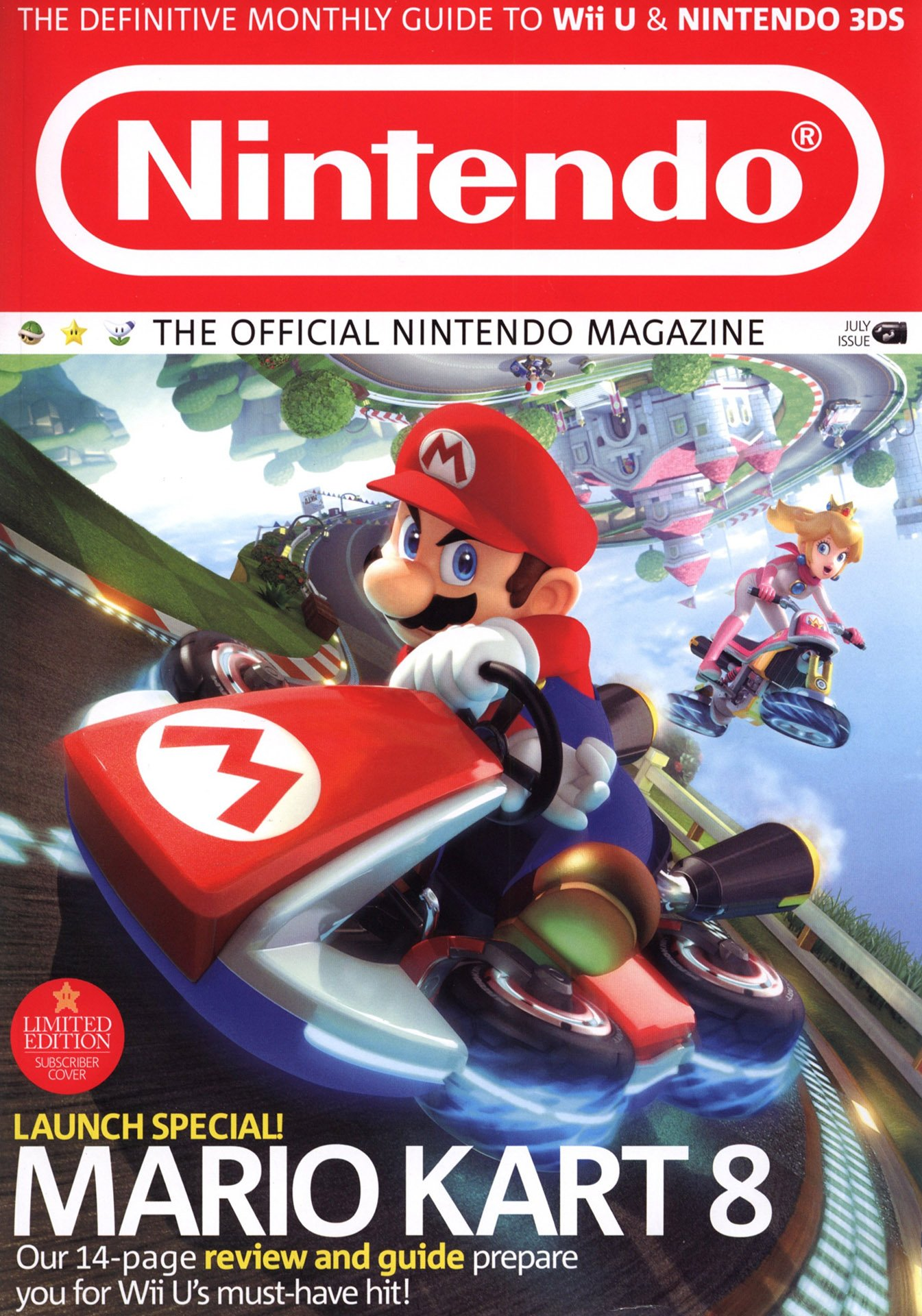 Official Nintendo Magazine 109 (July 2014) (subscriber cover)