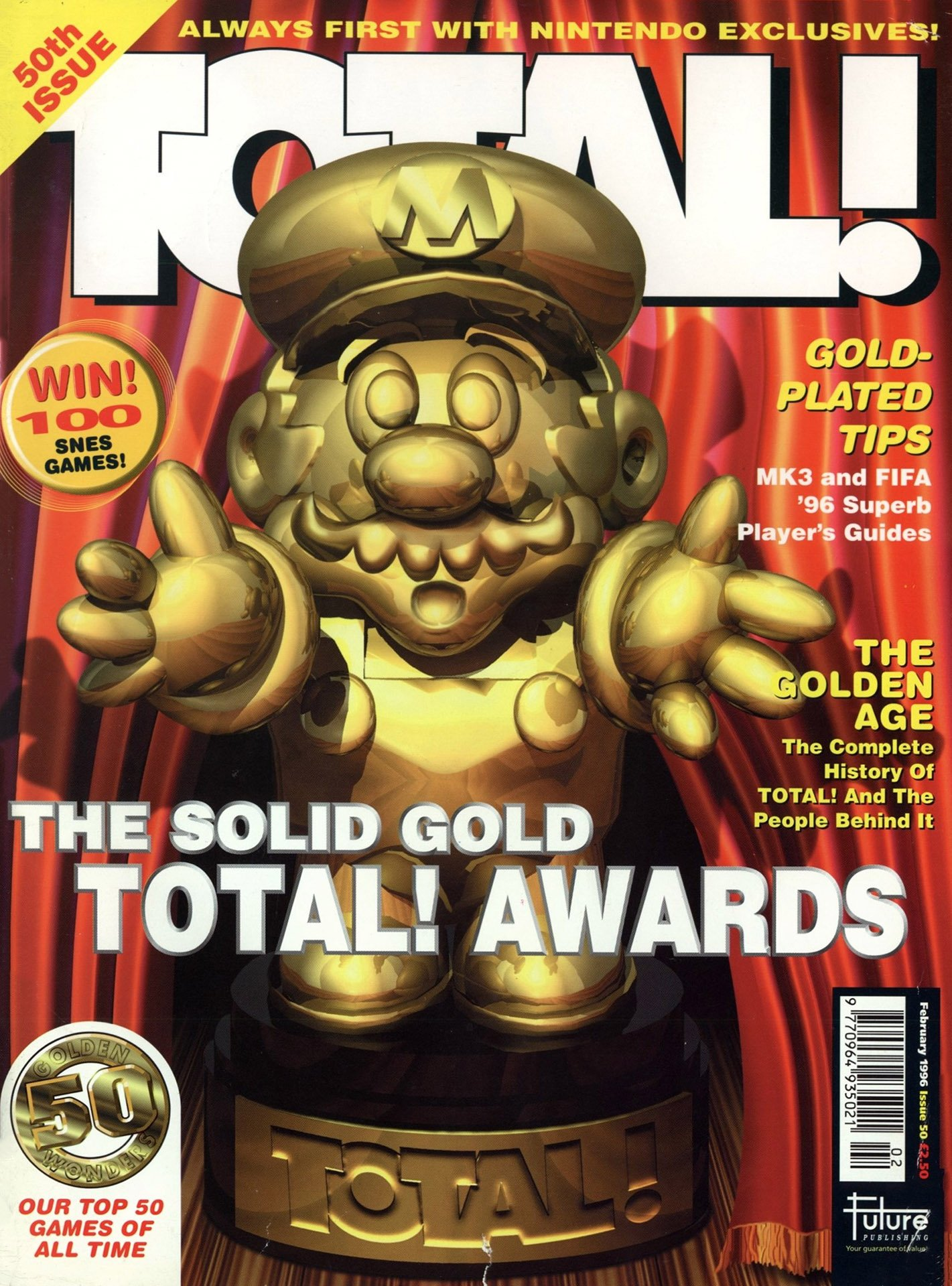 Total! Issue 50 (February 1996)