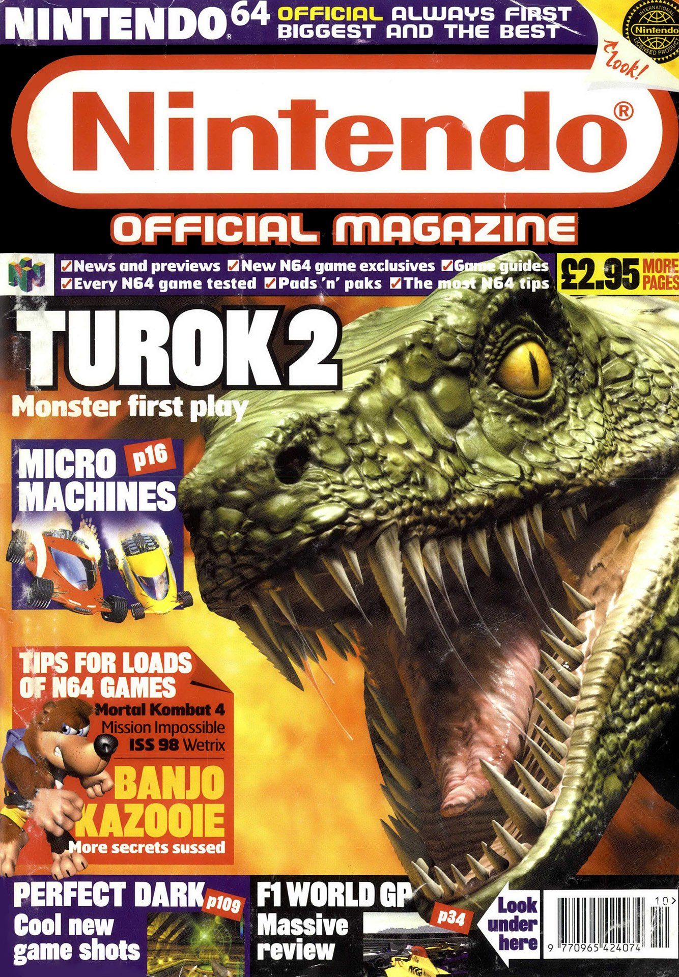 Nintendo Official Magazine 073 (October 1998)