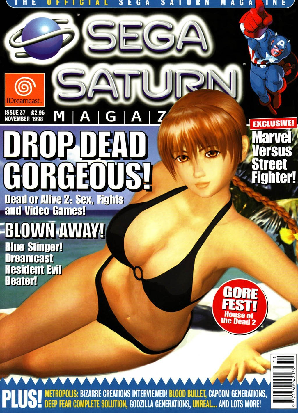 Official Sega Saturn Magazine 37 (November 1998)