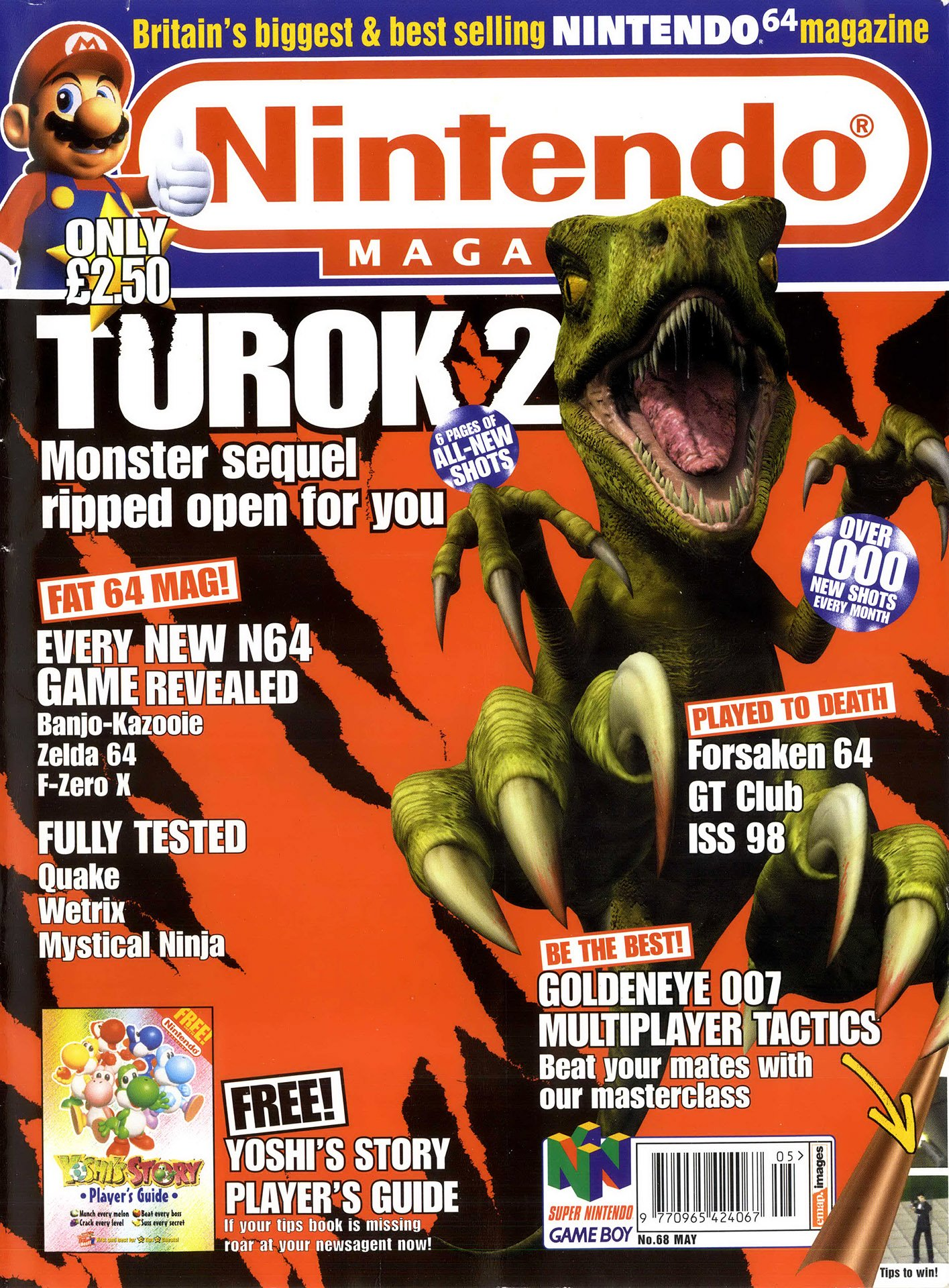 Nintendo Official Magazine 068 (May 1998)